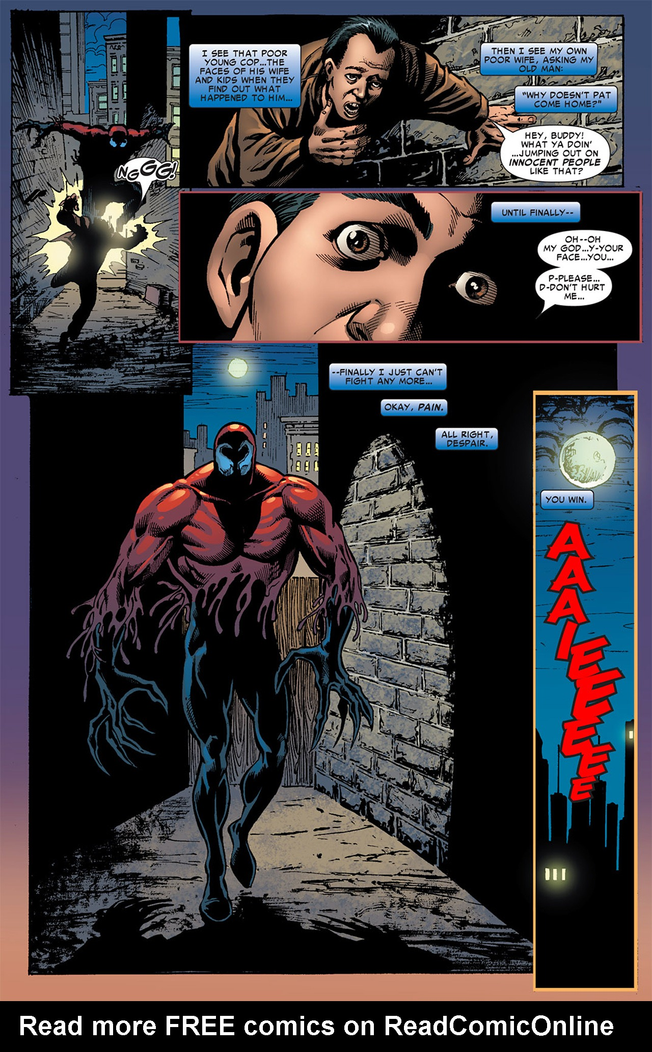 Read online Toxin comic -  Issue #3 - 17