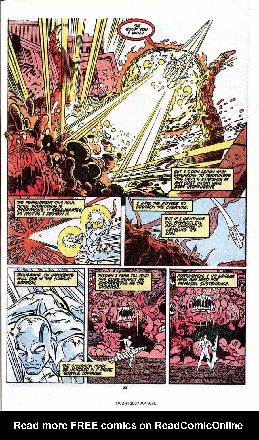 Read online Silver Surfer (1987) comic -  Issue # _Annual 3 - 25