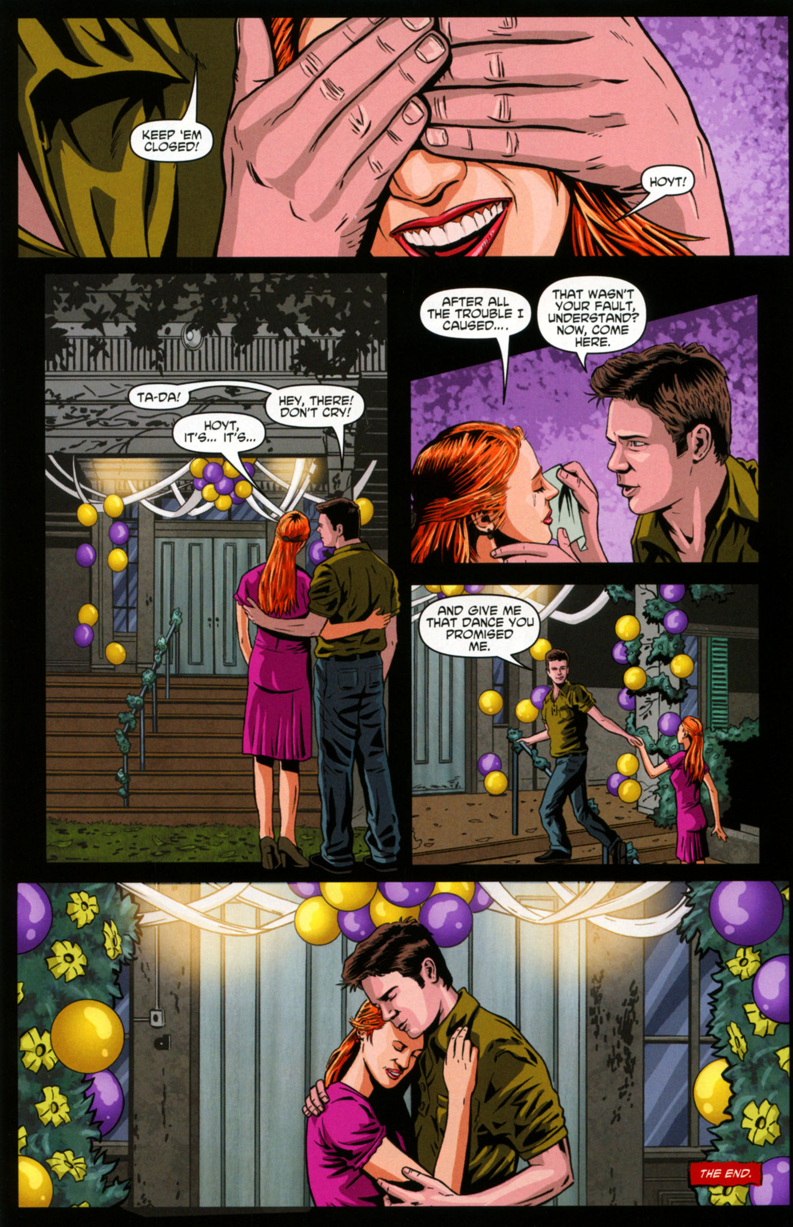 Read online True Blood: Tainted Love comic -  Issue #6 - 24