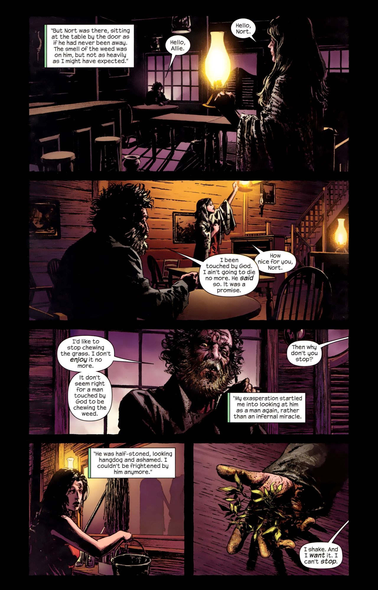 Read online Dark Tower: The Gunslinger - The Battle of Tull comic -  Issue #3 - 8