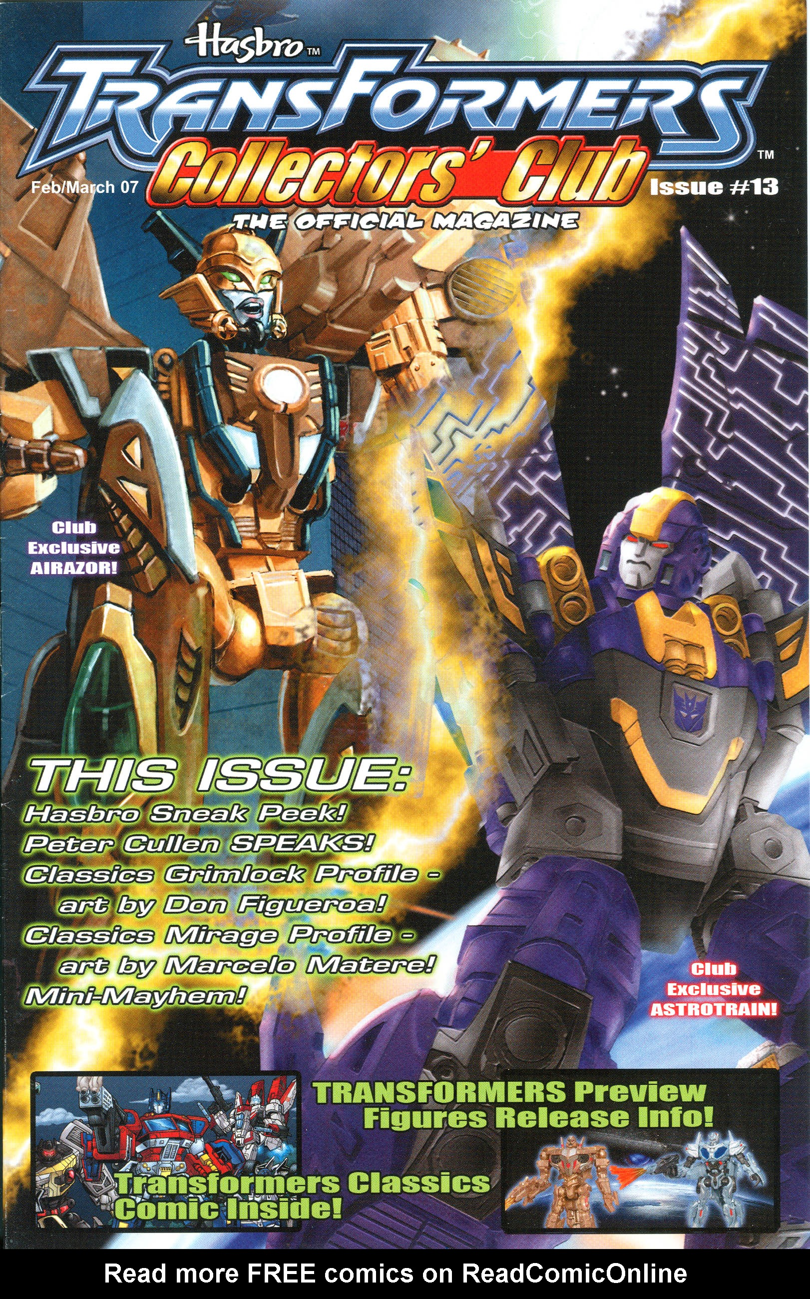 Read online Transformers: Collectors' Club comic -  Issue #13 - 1
