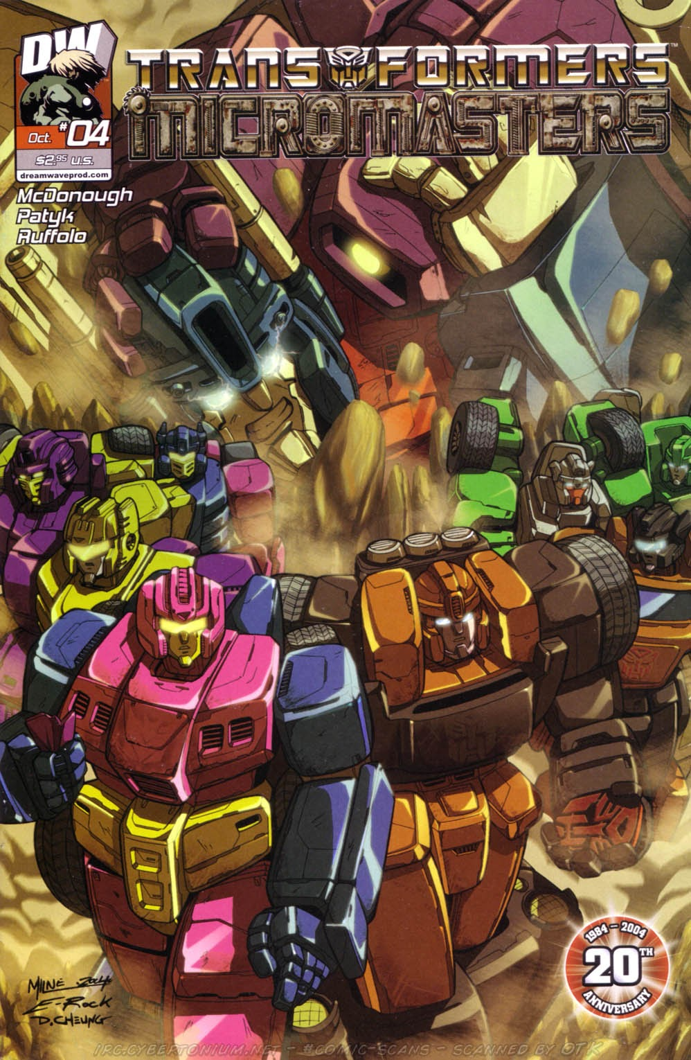 Read online Transformers: Micromasters comic -  Issue #4 - 2