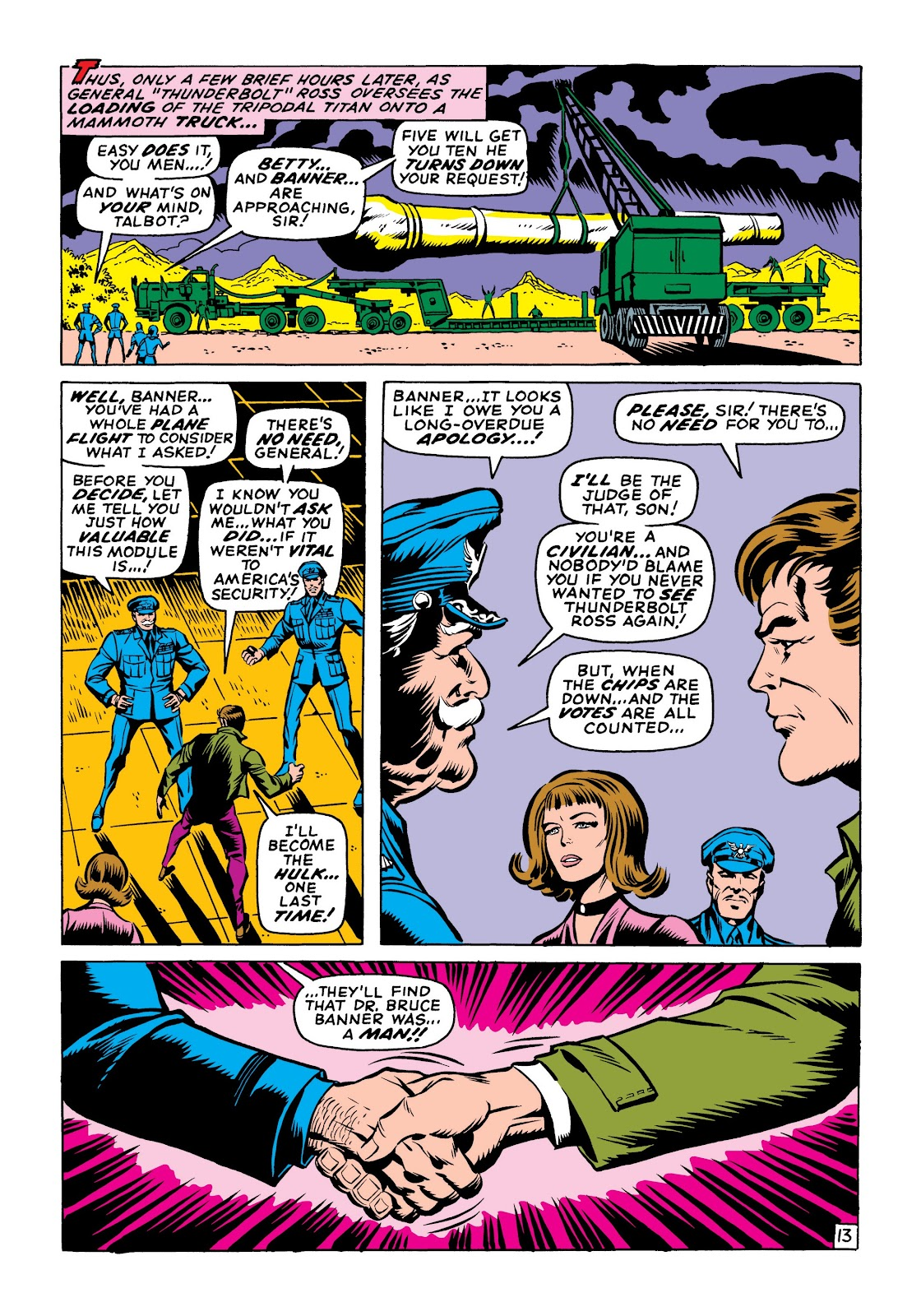 Read online Marvel Masterworks: The Incredible Hulk comic -  Issue # TPB 6 (Part 1) - 43
