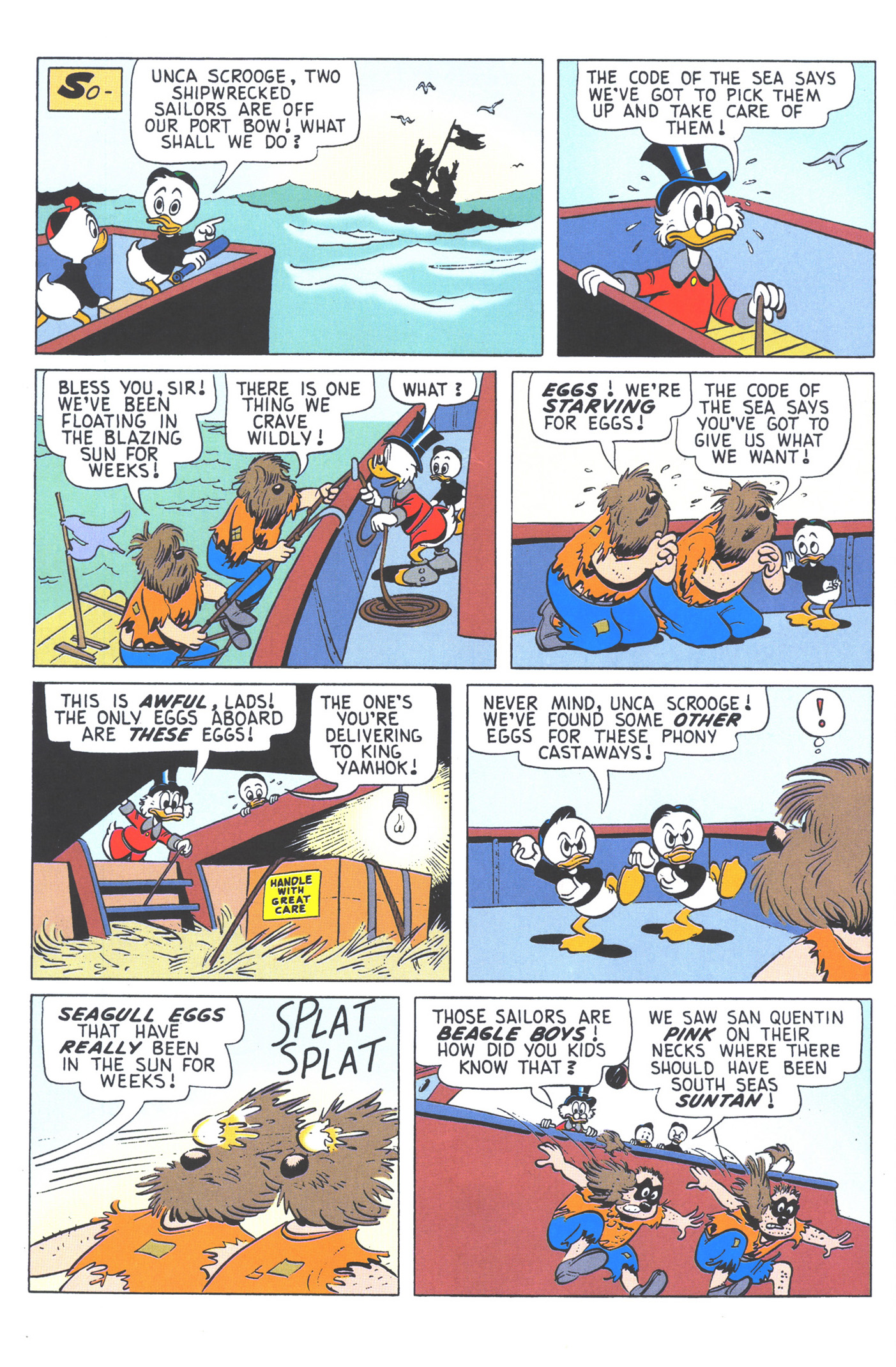 Read online Uncle Scrooge (1953) comic -  Issue #376 - 60