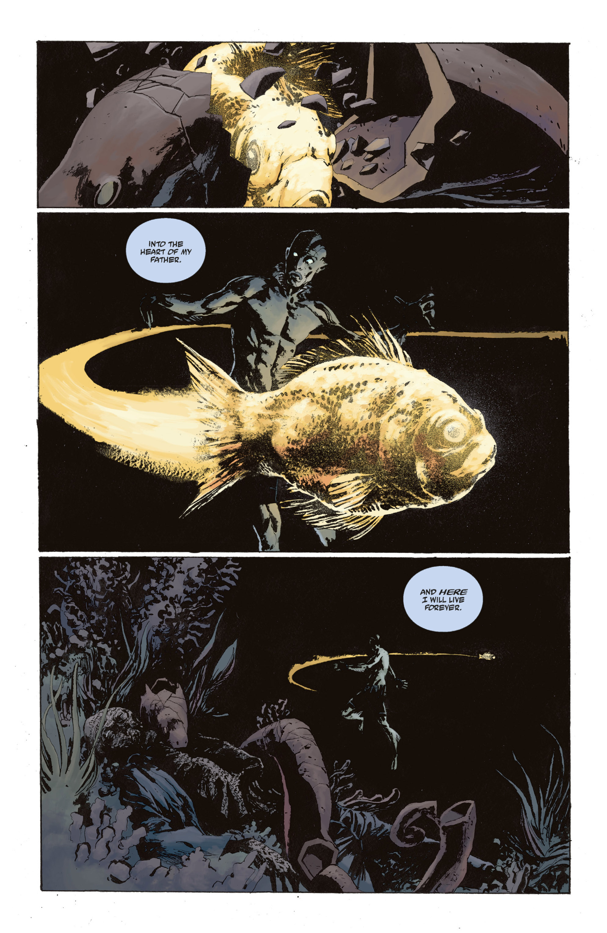 Read online Abe Sapien: The Drowning comic -  Issue #Abe Sapien: The Drowning _TPB - 132