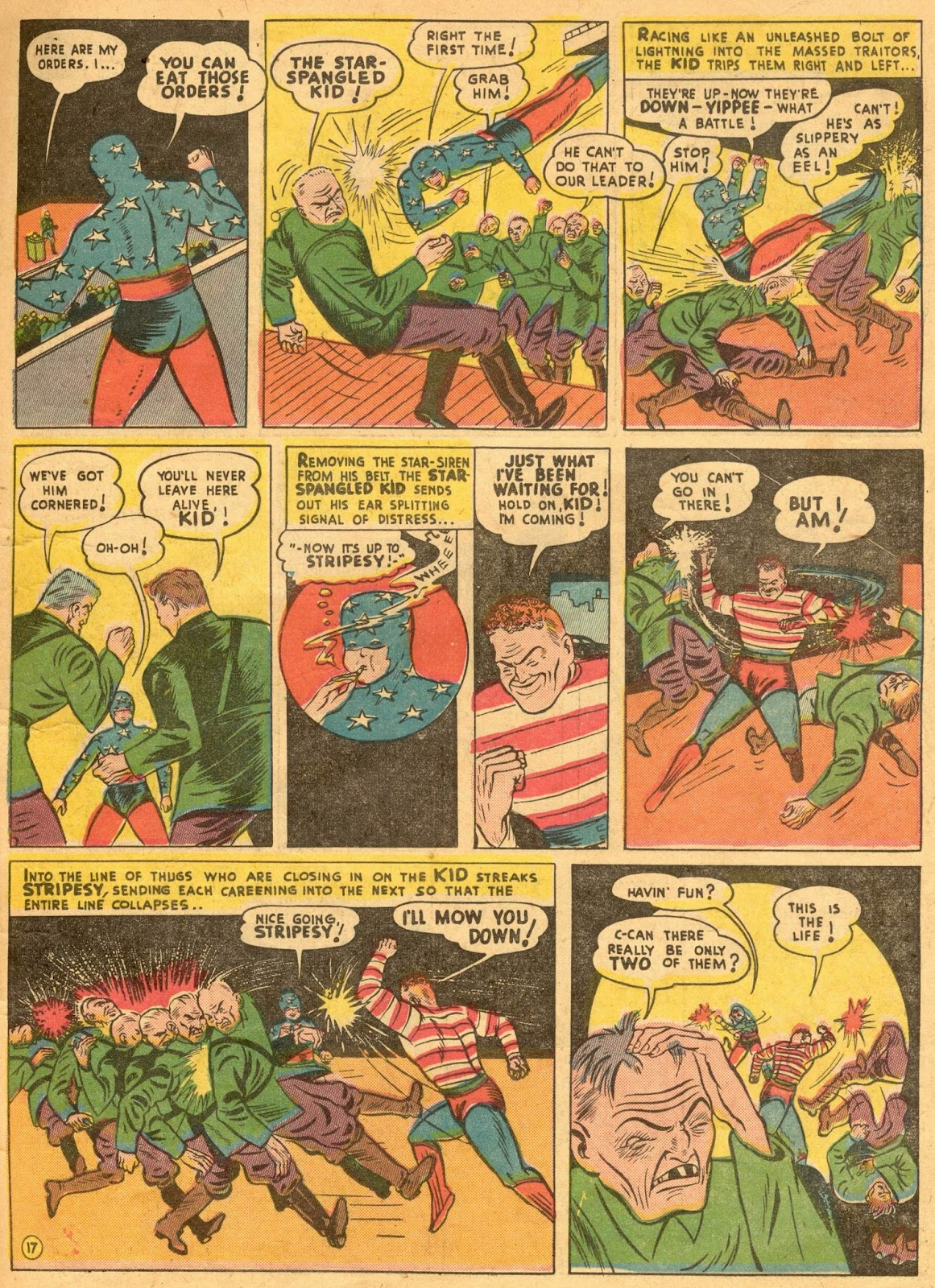 Star Spangled Comics (1941) issue 1 - Page 19