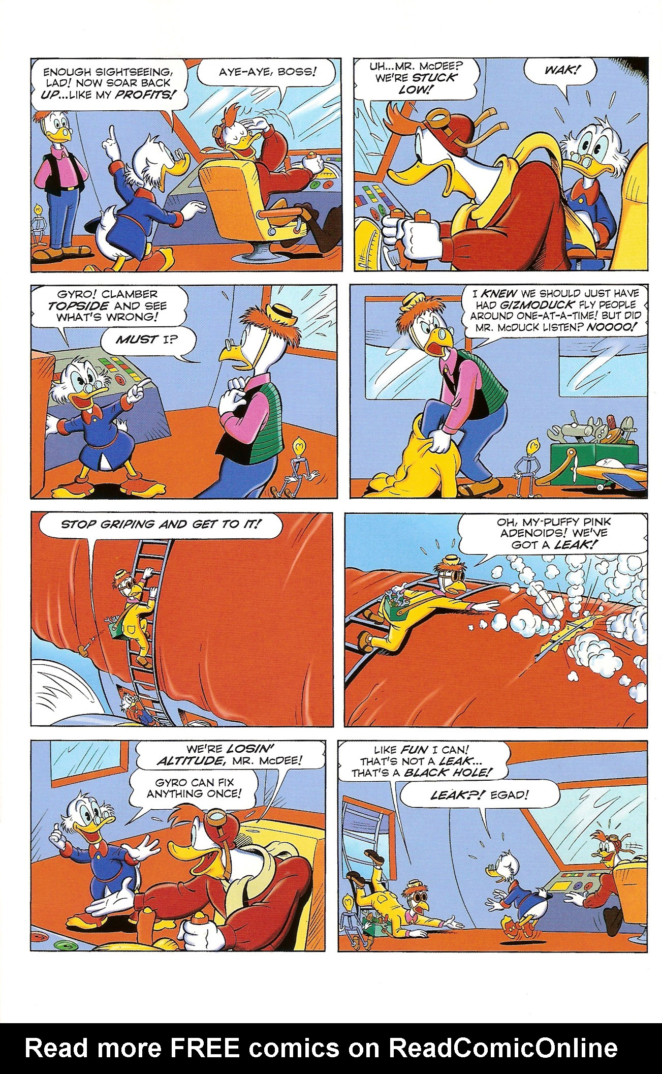 Read online Uncle Scrooge (1953) comic -  Issue #397 - 23