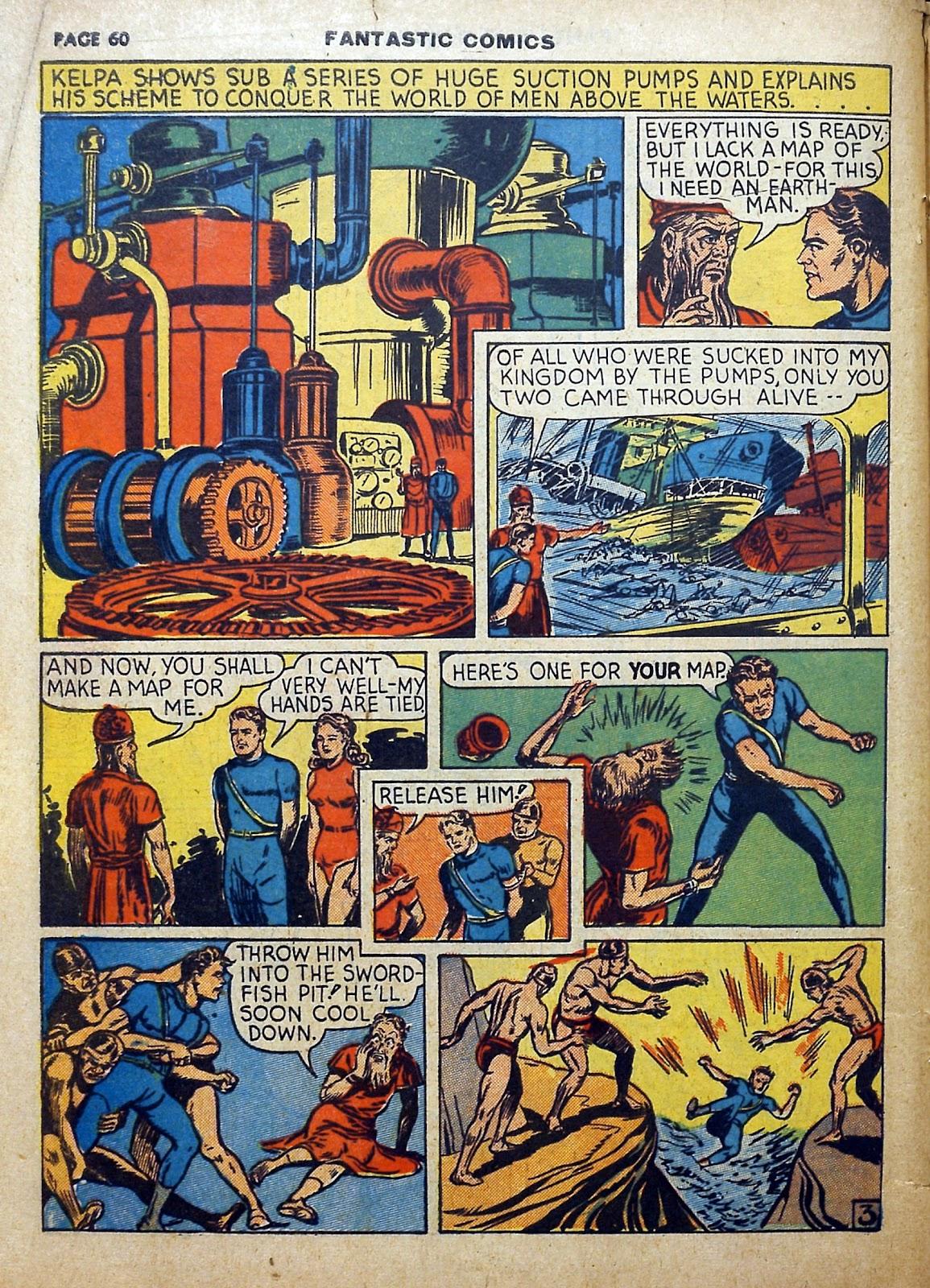 Read online Fantastic Comics comic -  Issue #5 - 61