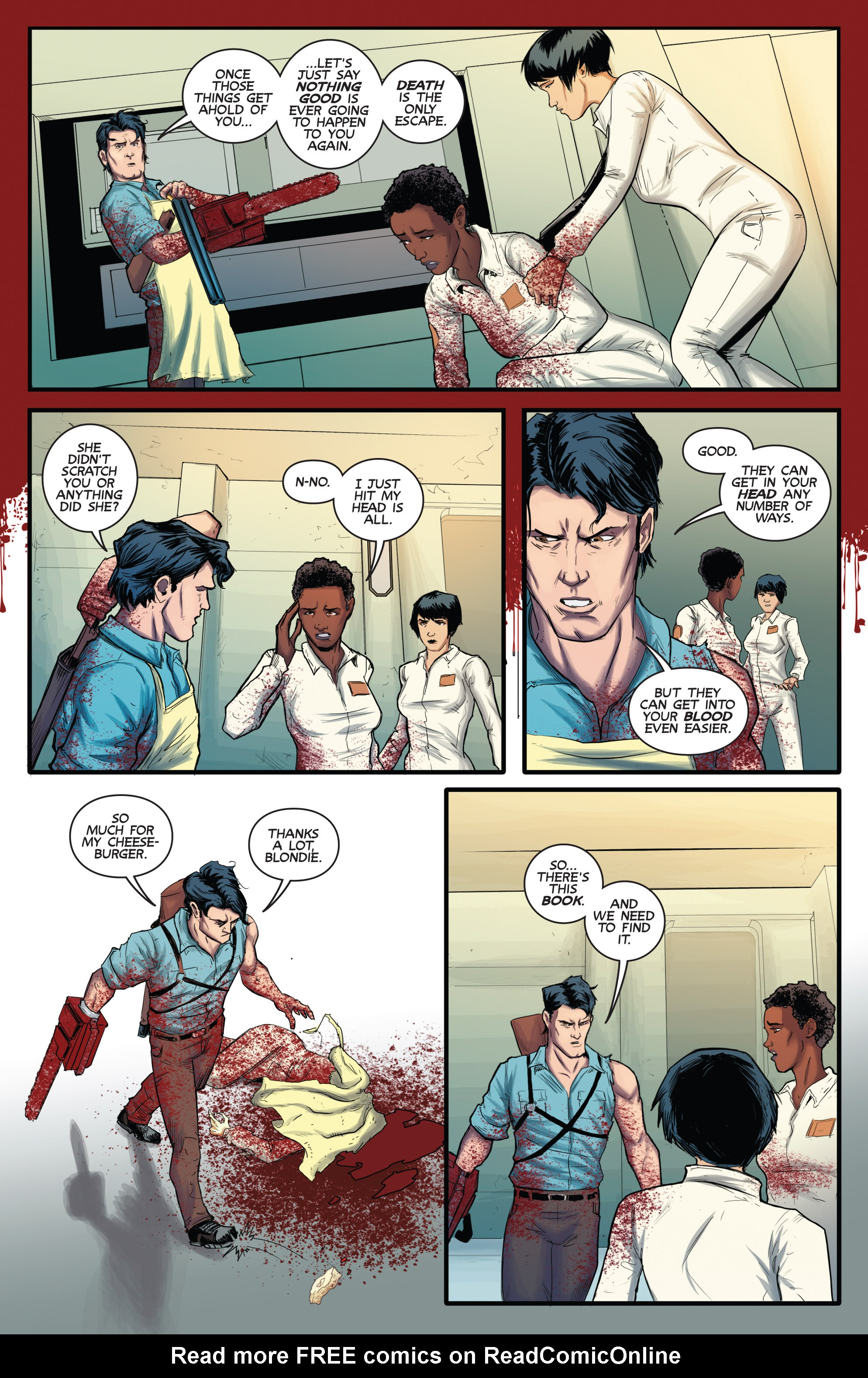 Read online Army of Darkness (2014) comic -  Issue #3 - 11