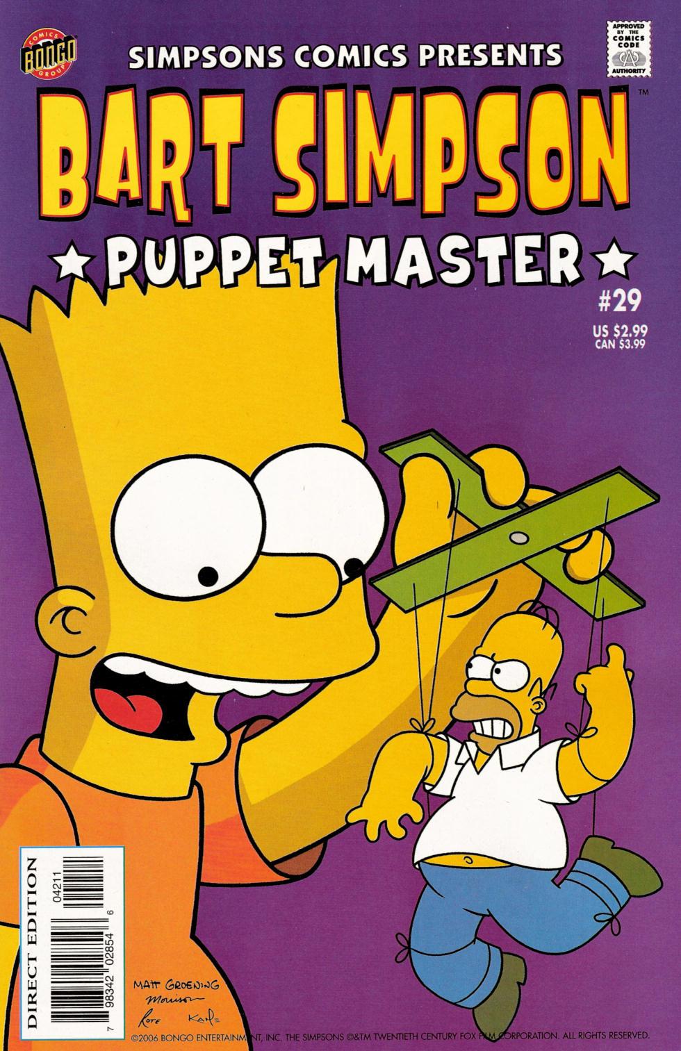 Read online Simpsons Comics Presents Bart Simpson comic -  Issue #29 - 1