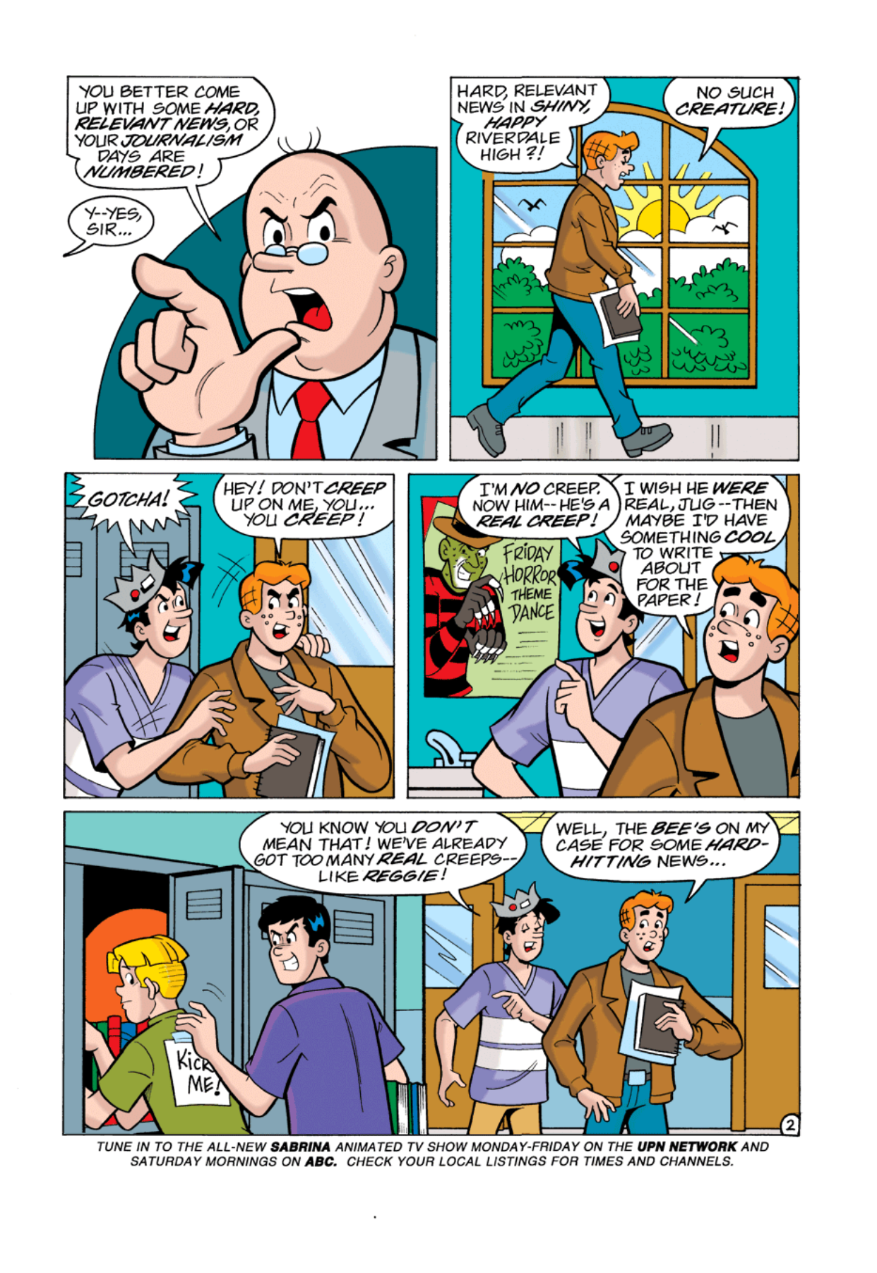 Read online Archie's Weird Mysteries comic -  Issue #1 - 3