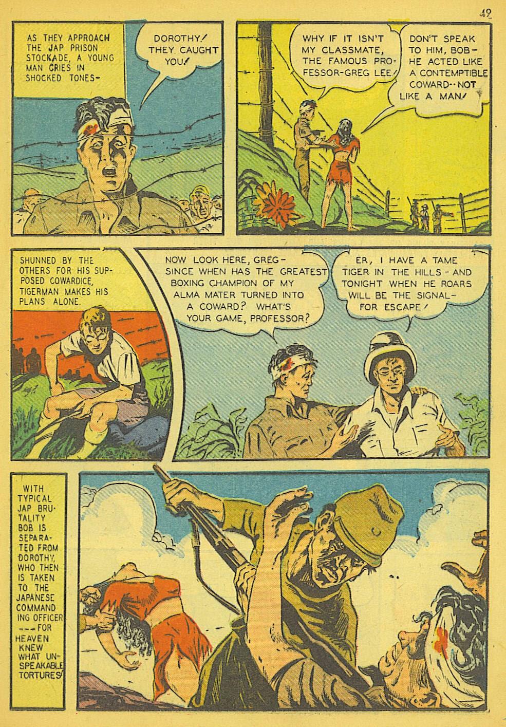 Read online Super-Magician Comics comic -  Issue #19 - 41