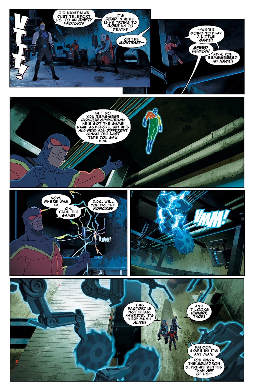 Read online Marvel Universe Avengers Assemble Season 2 comic -  Issue #13 - 6