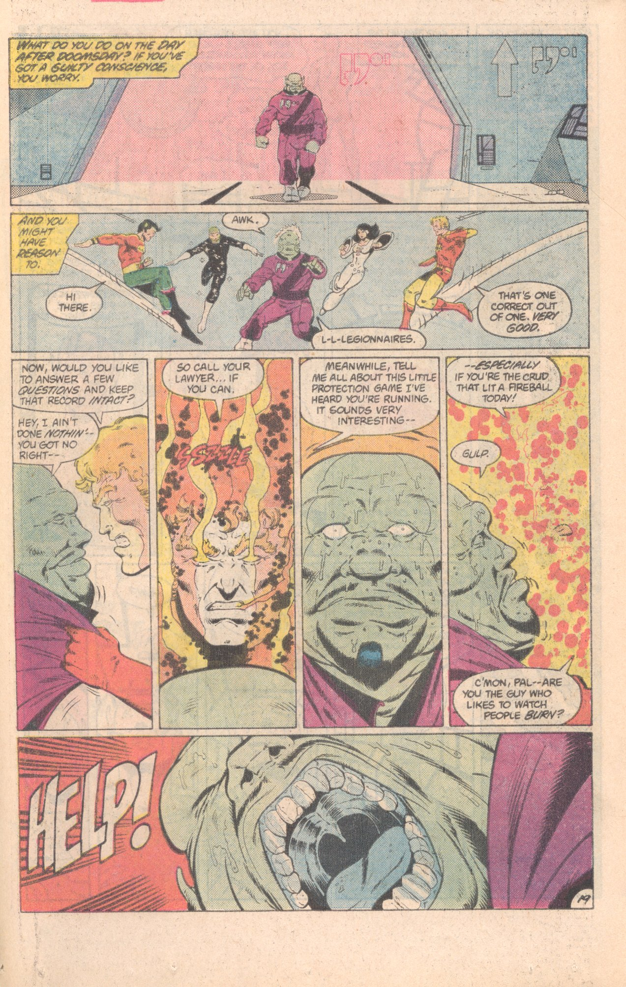 Legion of Super-Heroes (1980) 296 Page 19