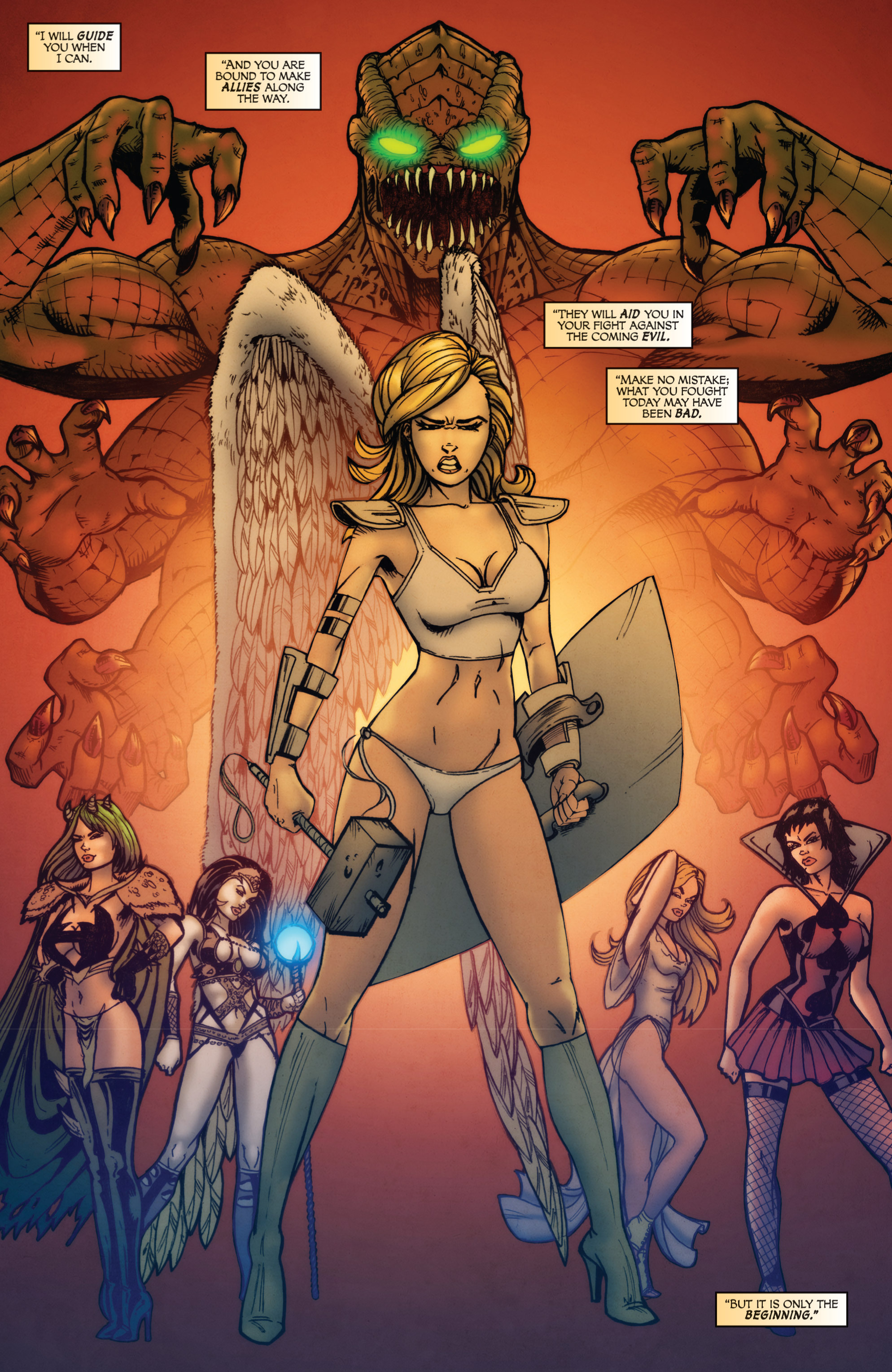Read online Grimm Fairy Tales presents Grimm Universe comic -  Issue # TPB - 39
