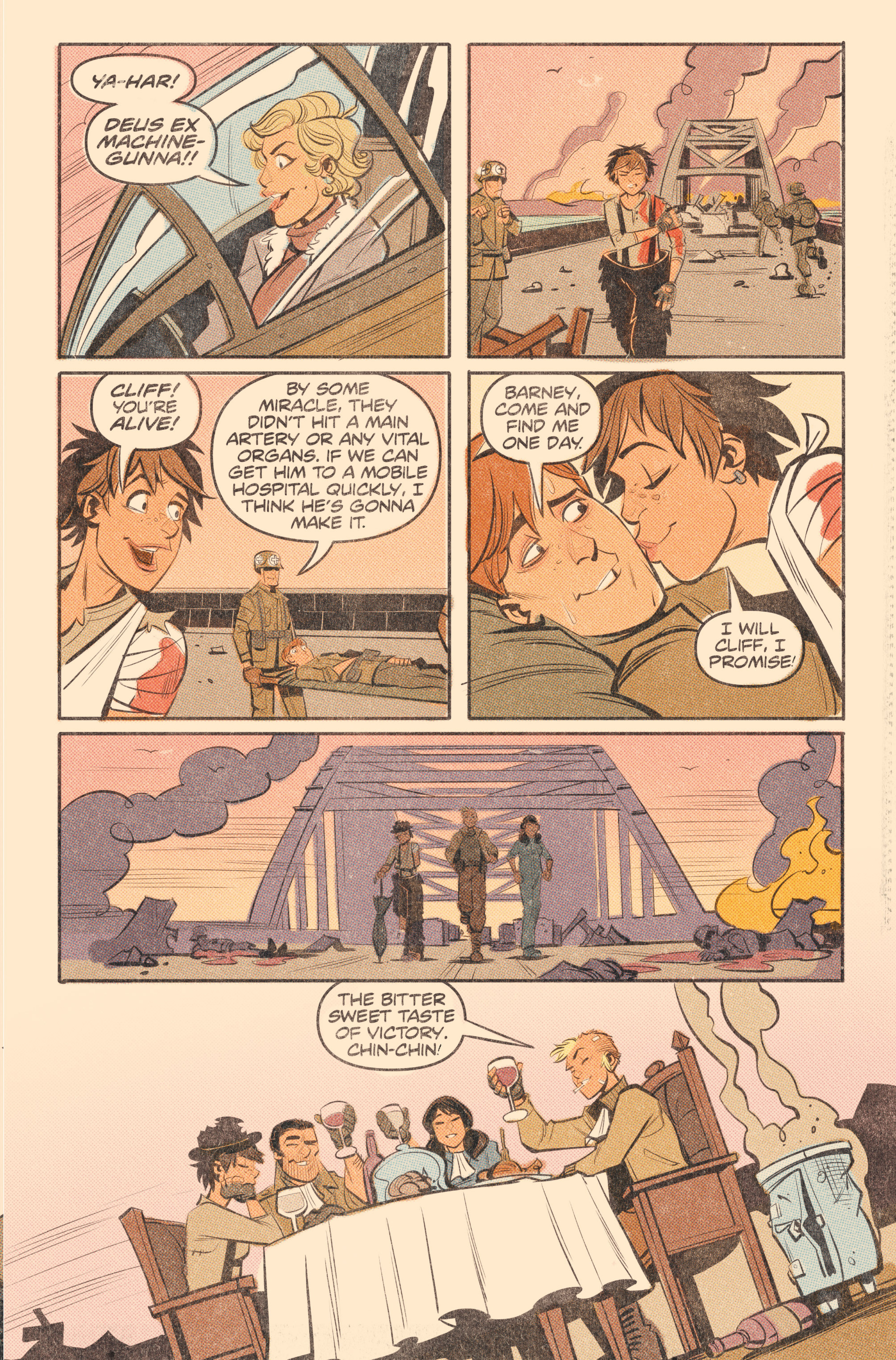 Read online Tank Girl: World War Tank Girl comic -  Issue #2 - 21