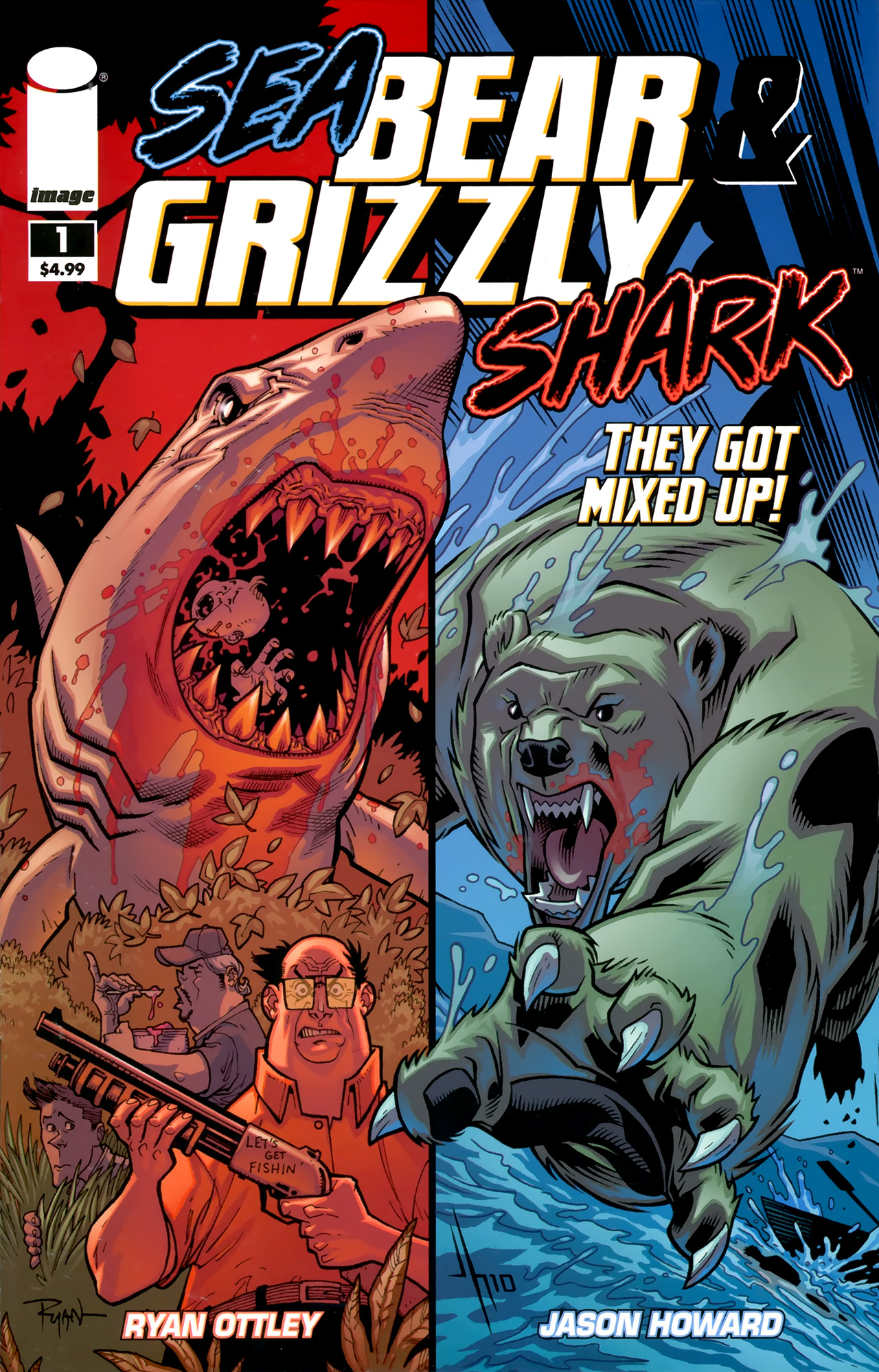 Read online Sea Bear & Grizzly Shark comic -  Issue # Full - 1