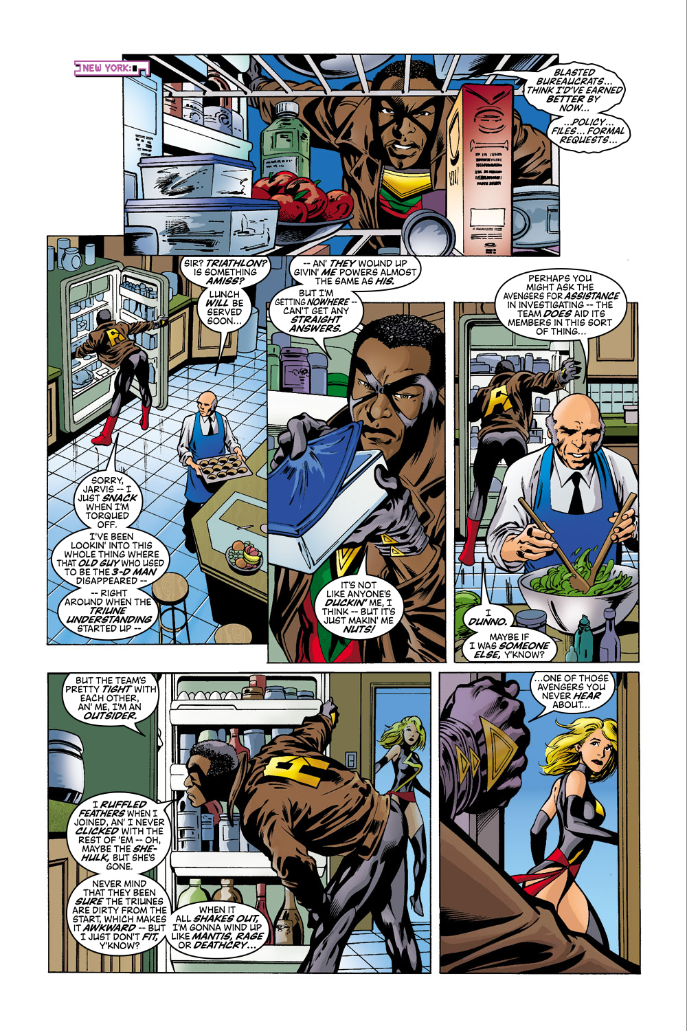 Read online Avengers (1998) comic -  Issue #41 - 10