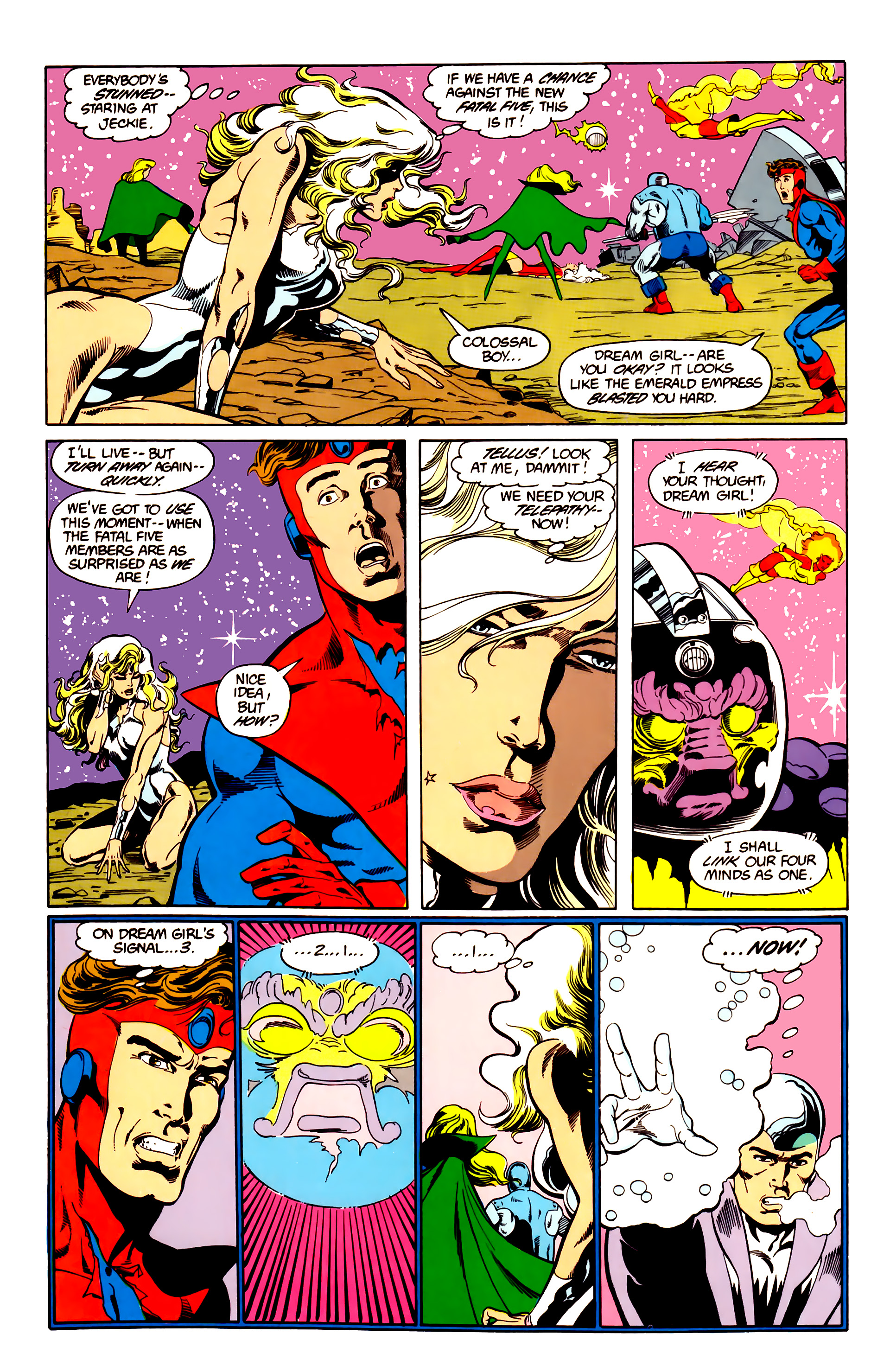 Legion of Super-Heroes (1984) 26 Page 3