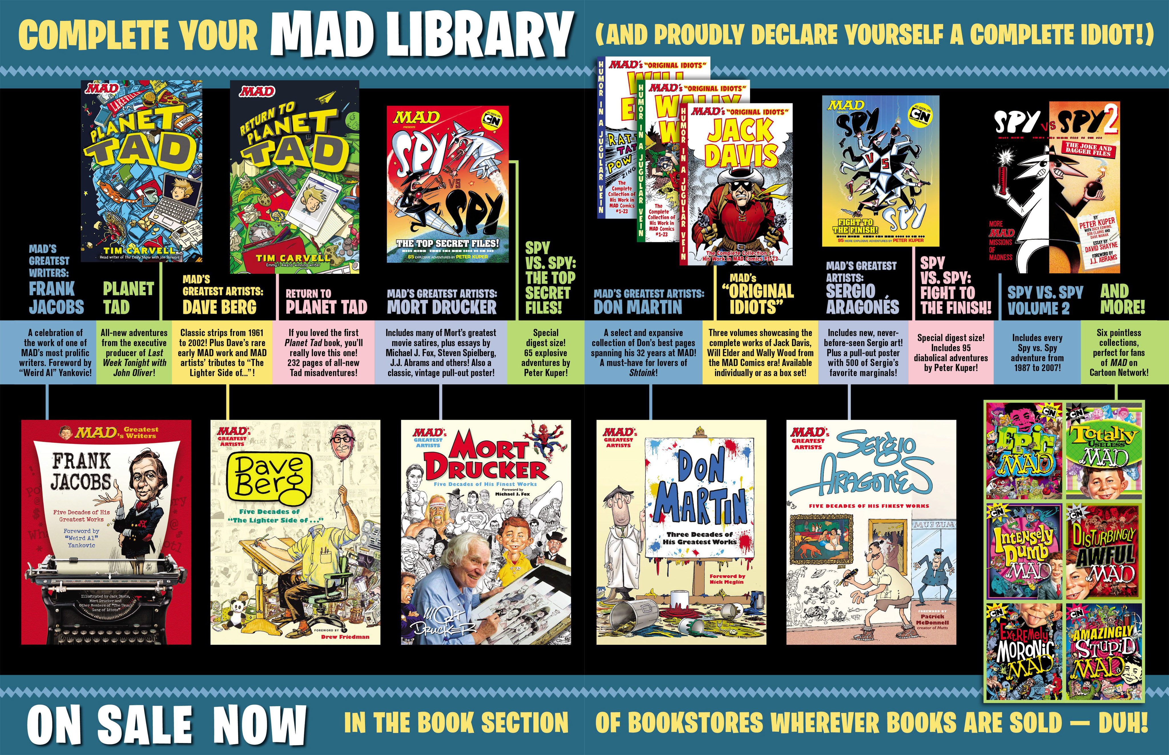 Read online MAD comic -  Issue #546 - 21