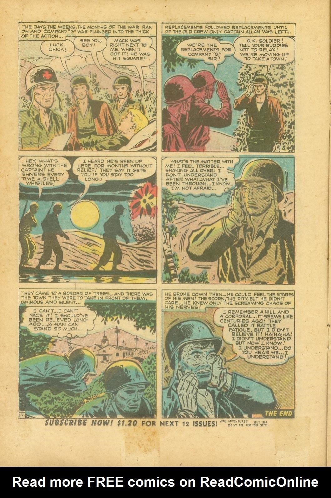 War Adventures issue 1 - Page 16