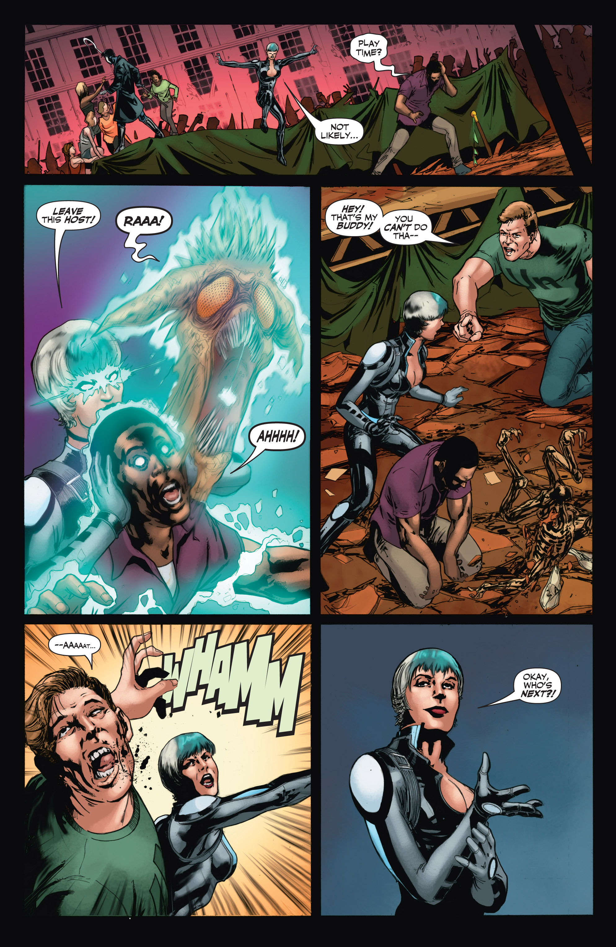 Read online Shadowman (2012) comic -  Issue #11 - 18