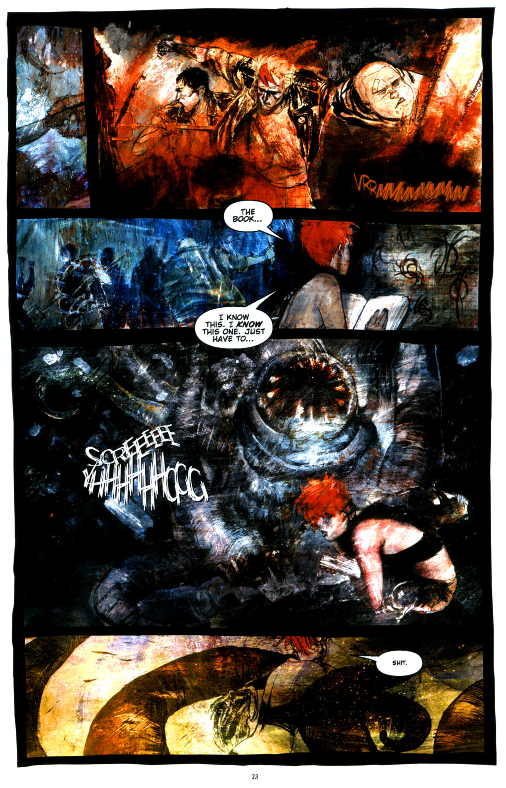 Read online Silent Hill: Dying Inside comic -  Issue #3 - 21