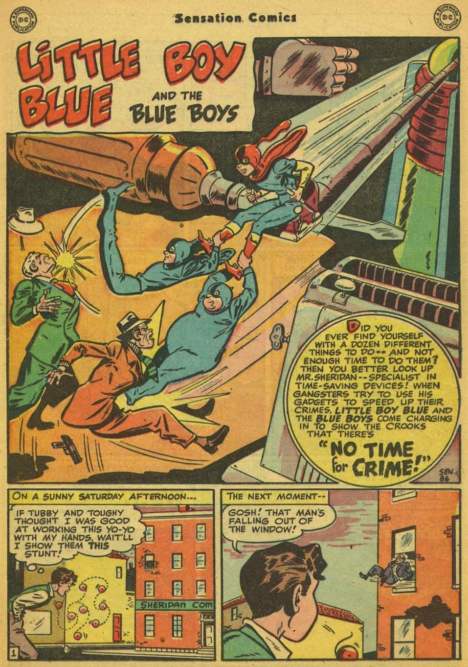 Read online Sensation (Mystery) Comics comic -  Issue #80 - 16