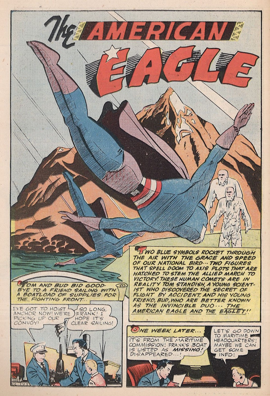 Exciting Comics (1940) issue 38 - Page 16