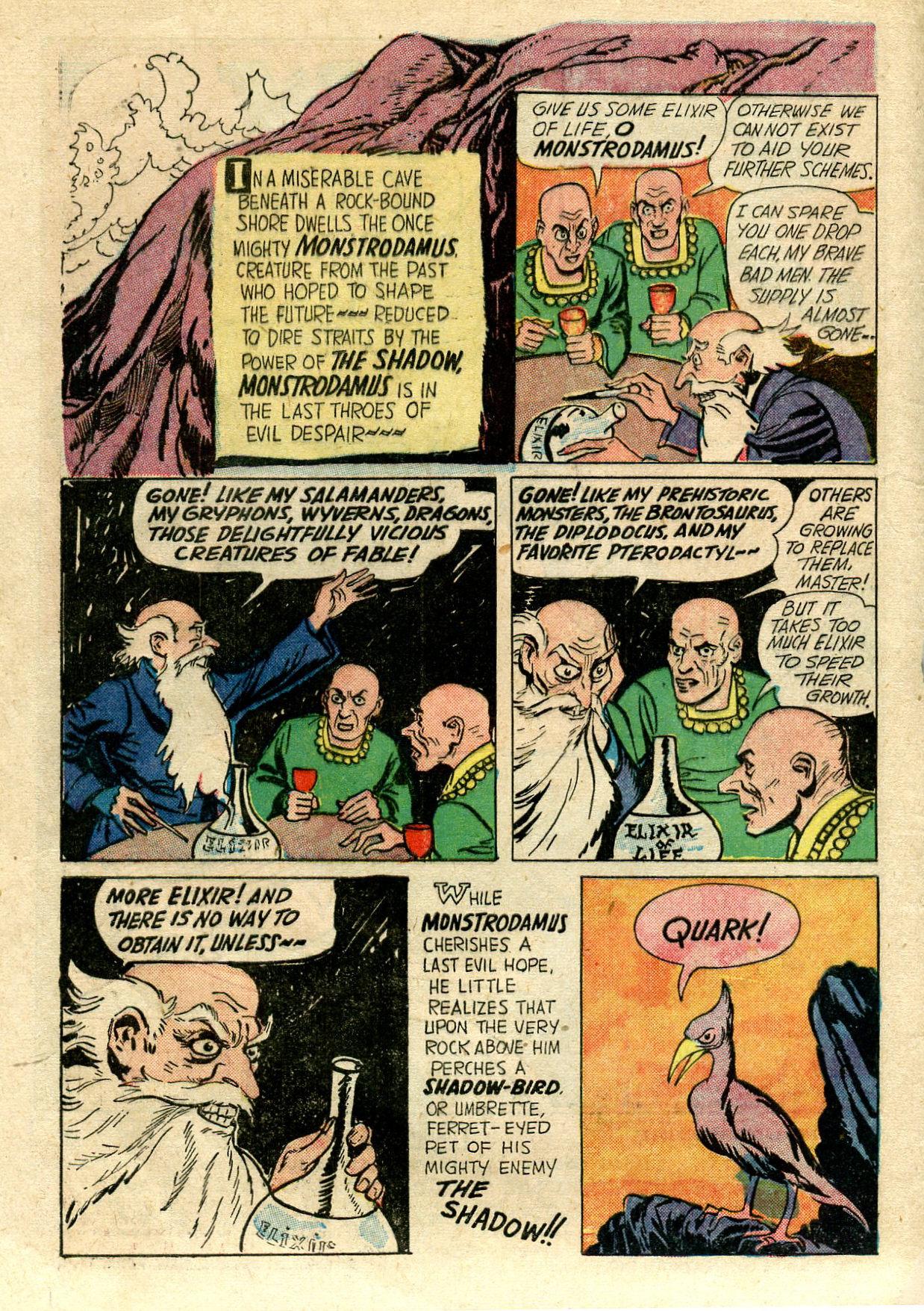 Read online Shadow Comics comic -  Issue #33 - 4
