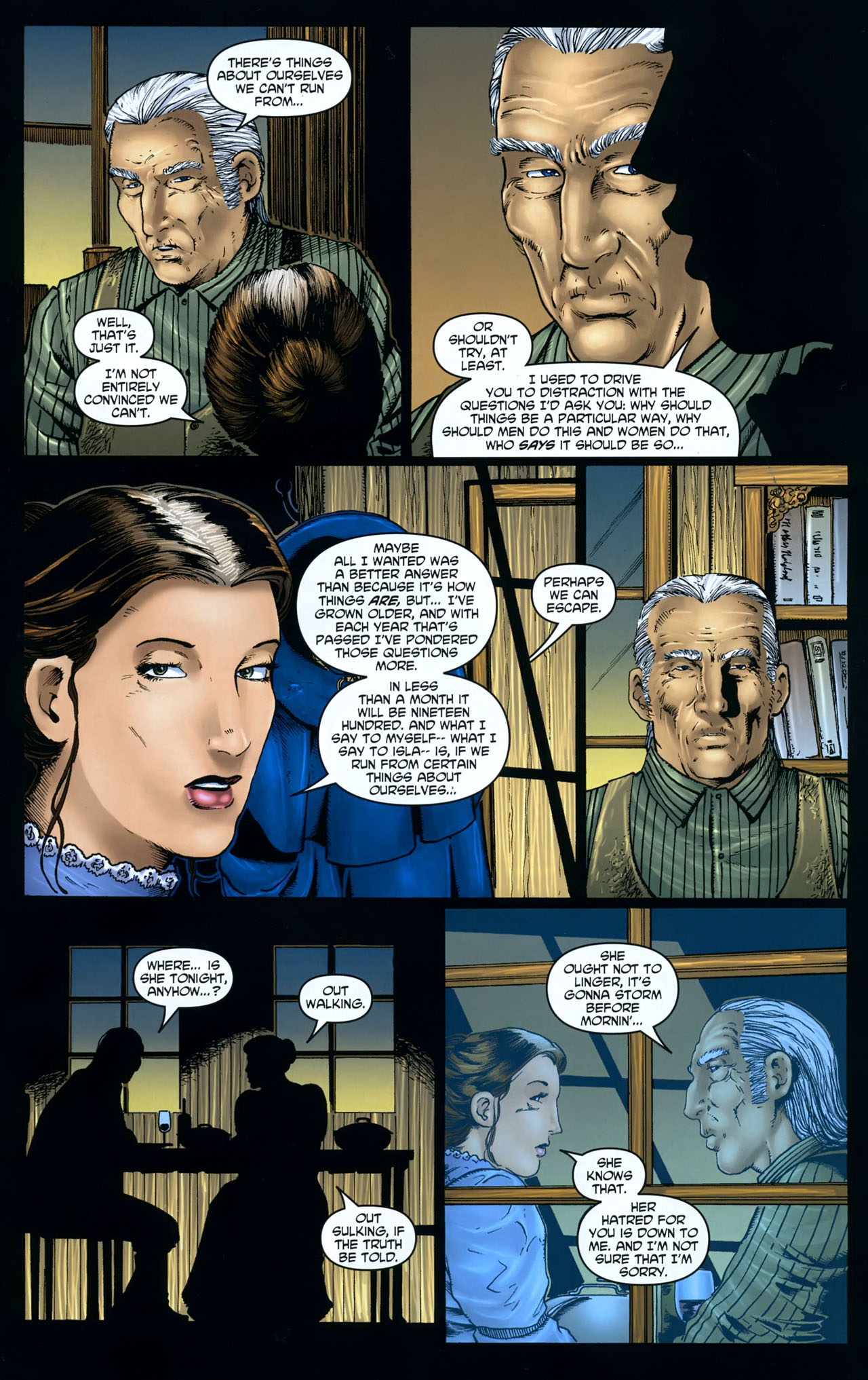 Read online Garth Ennis' Streets of Glory comic -  Issue #5 - 15
