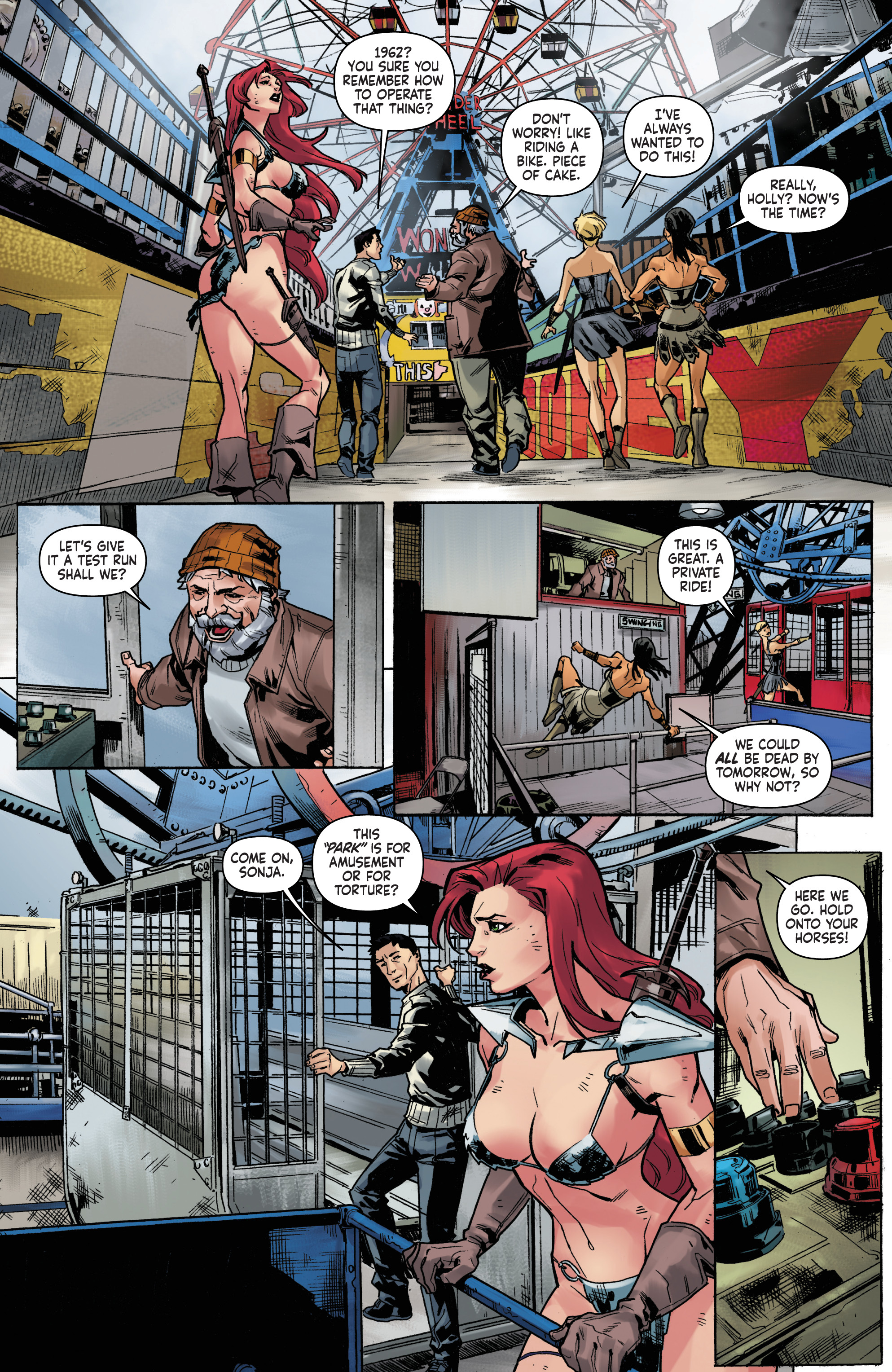 Read online Red Sonja Vol. 4 comic -  Issue #5 - 17
