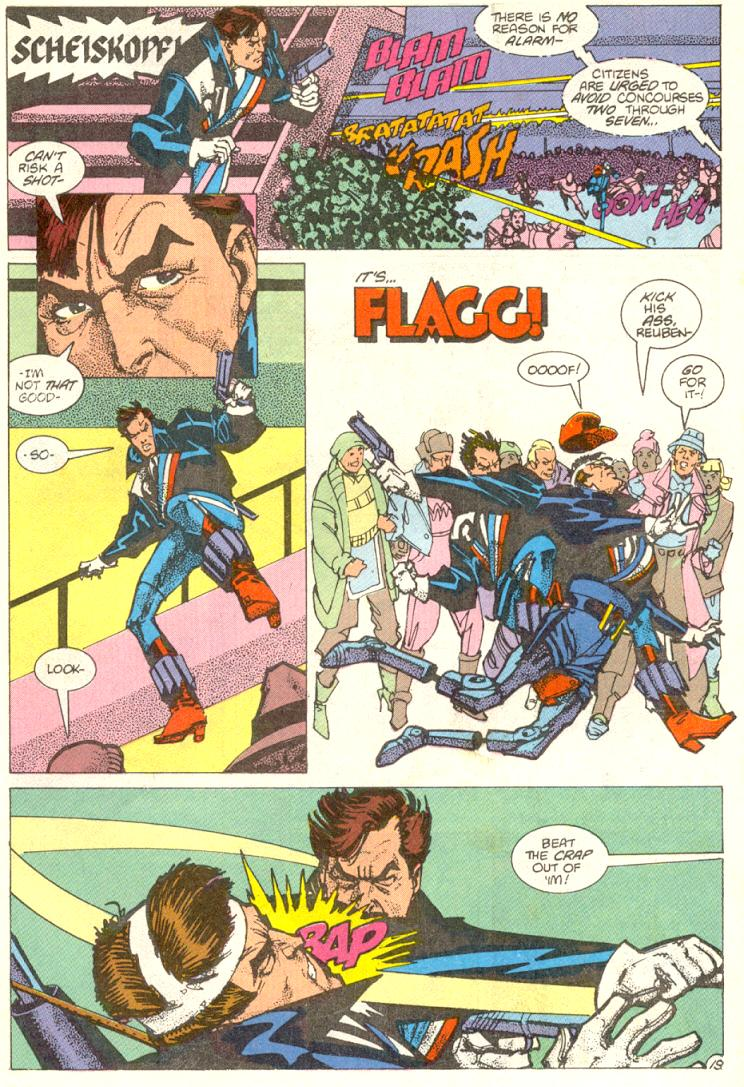 Read online American Flagg! comic -  Issue #12 - 20