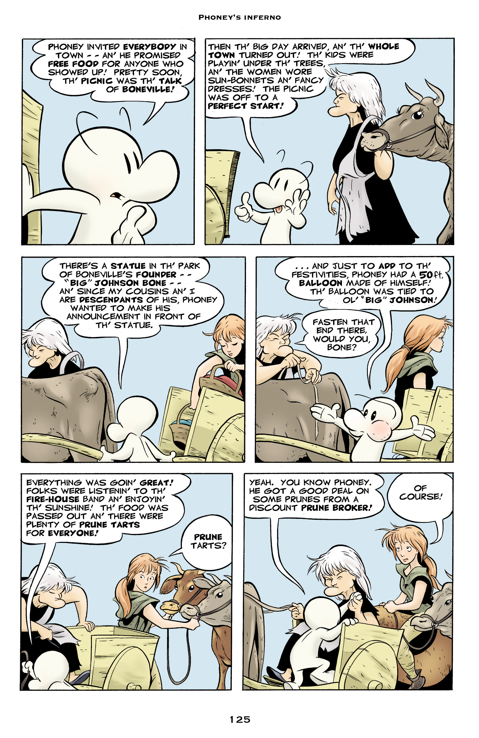 Read online Bone: Out From Boneville comic -  Issue # TPB - 125