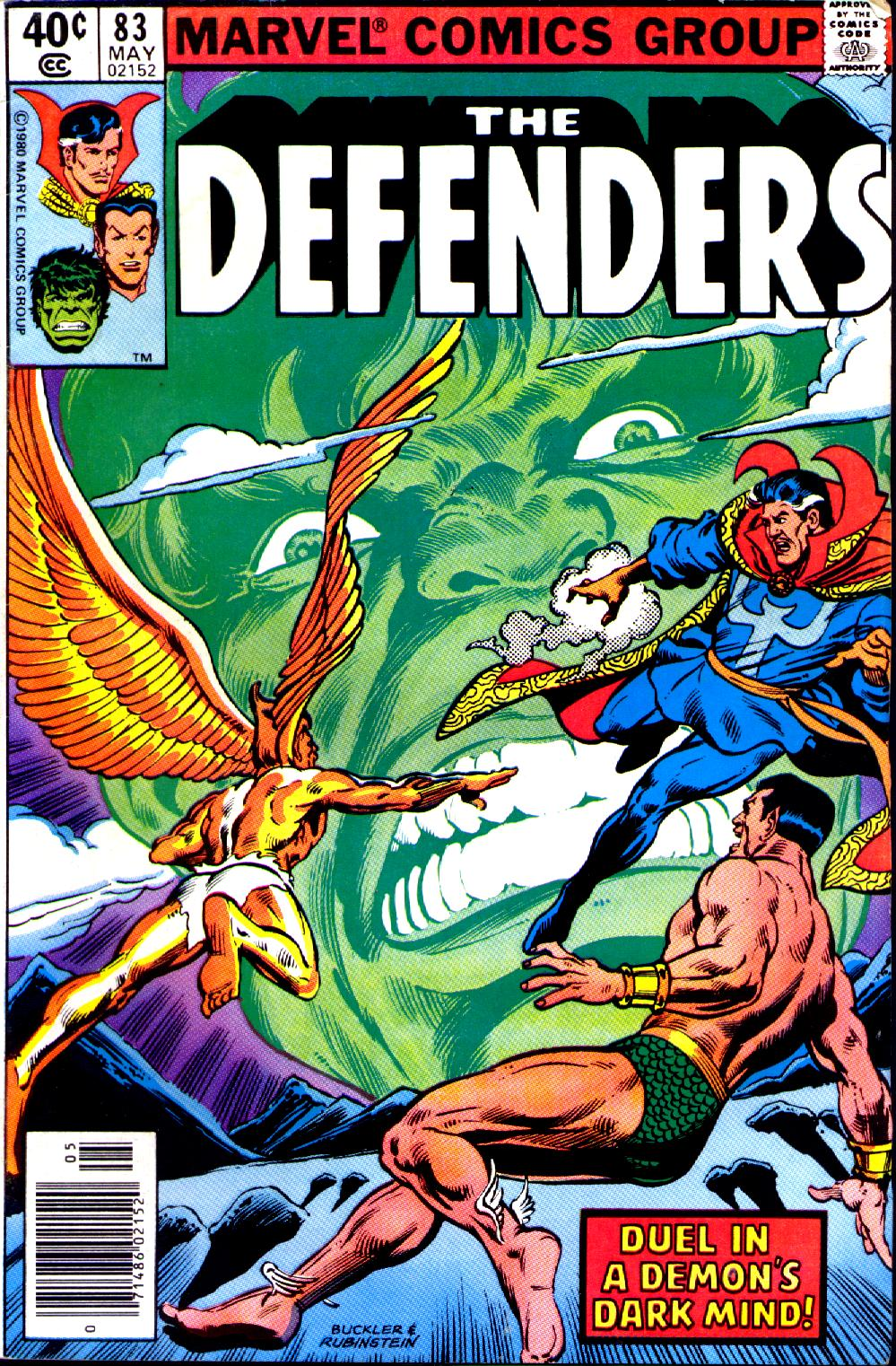 The Defenders (1972) issue 83 - Page 1