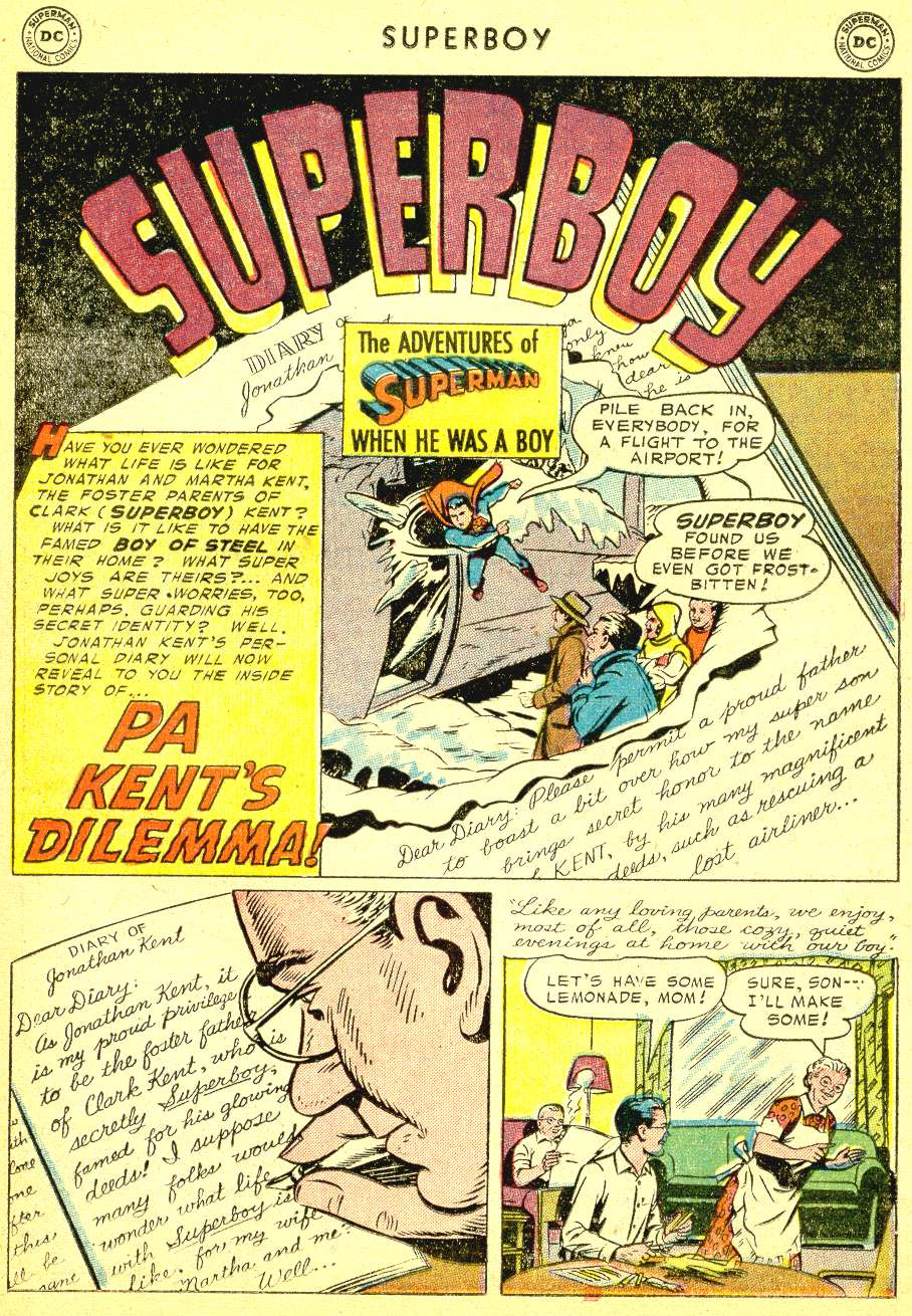 Superboy (1949) issue 41 - Page 22