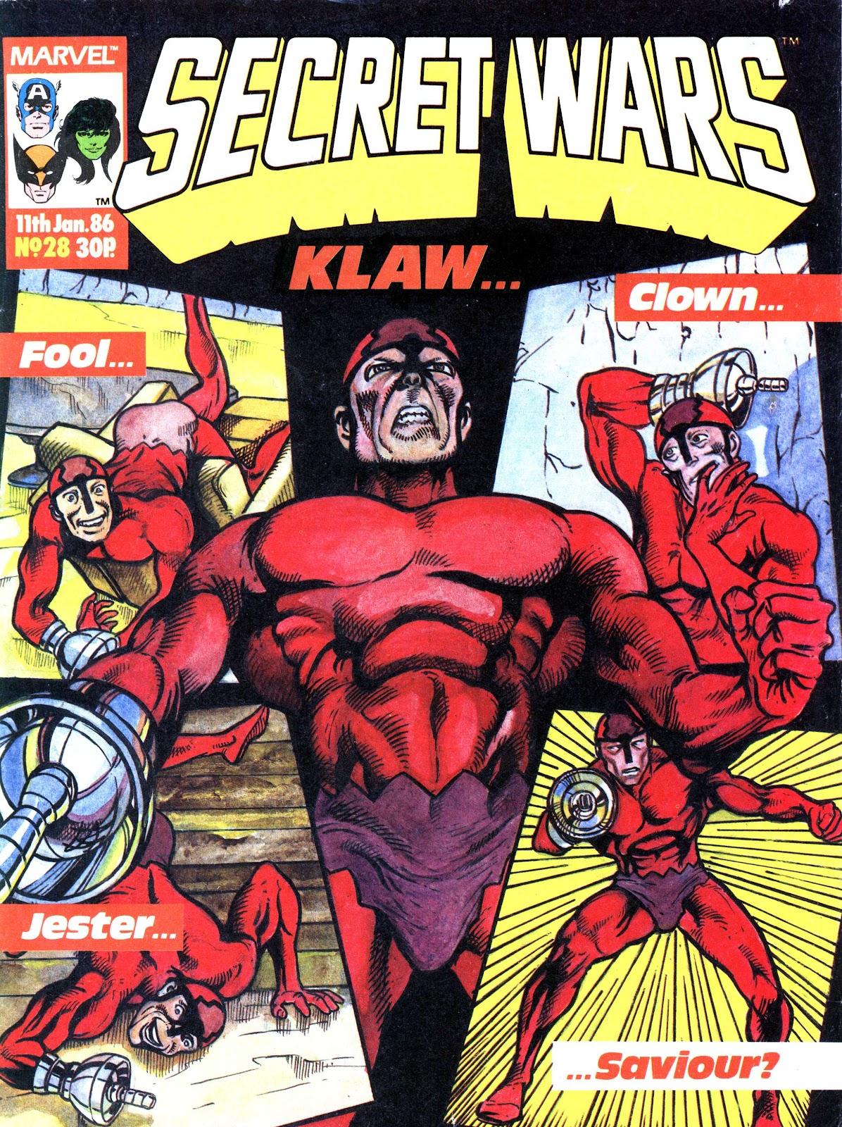 Secret Wars (1985) issue 28 - Page 1