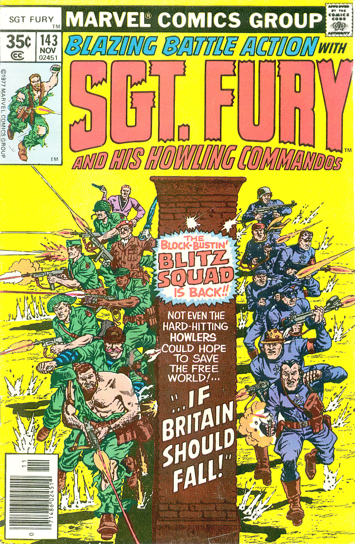 Read online Sgt. Fury comic -  Issue #143 - 1