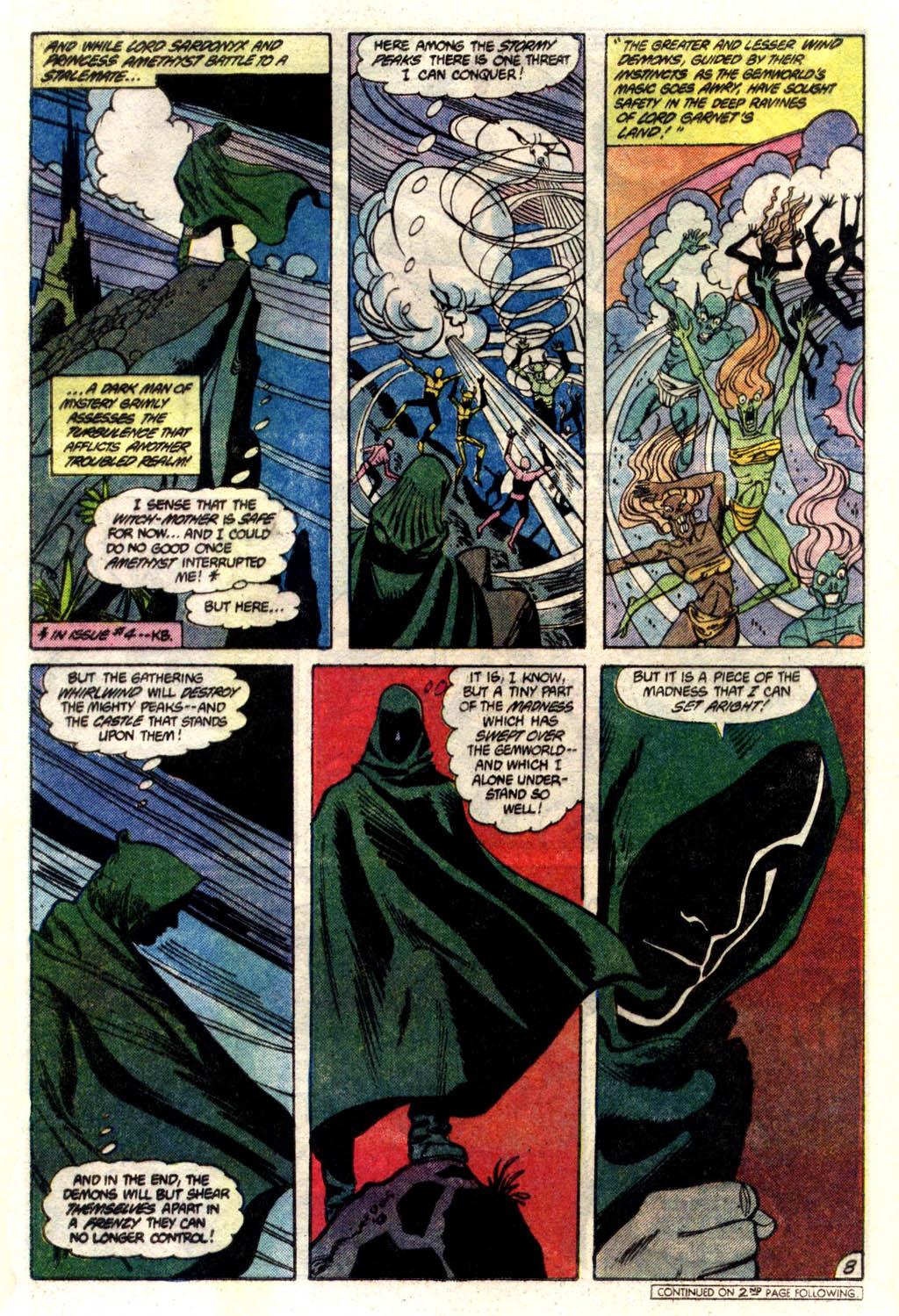 Read online Amethyst (1985) comic -  Issue #6 - 9
