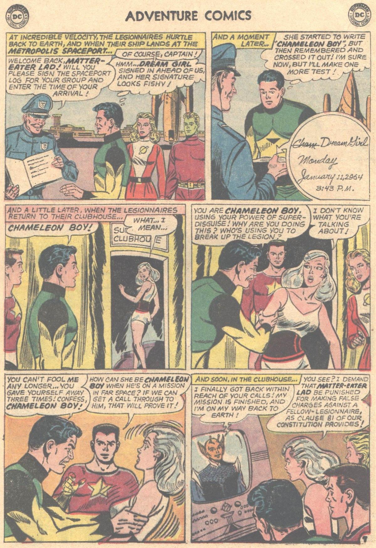 Read online Adventure Comics (1938) comic -  Issue #317 - 20