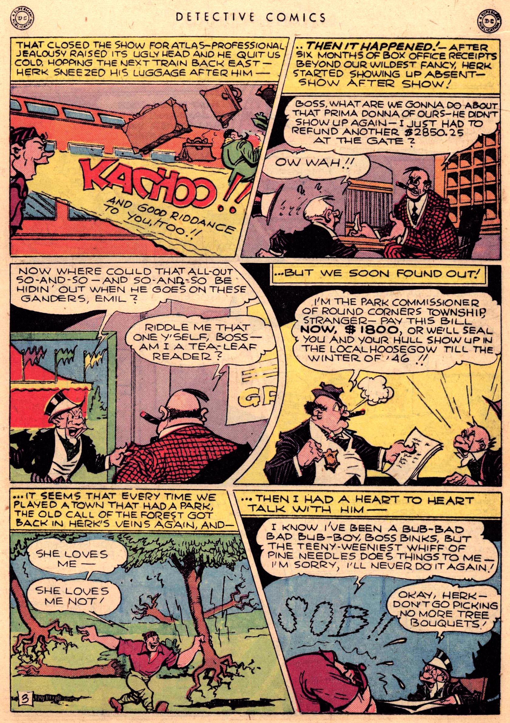 Read online Detective Comics (1937) comic -  Issue #95 - 19