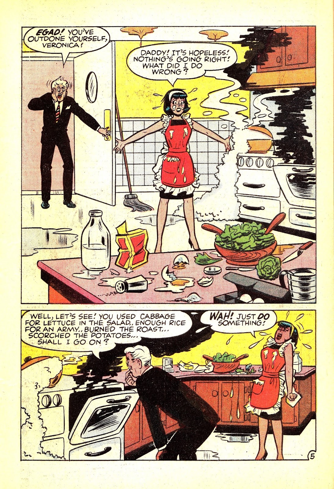 Read online Archie (1960) comic -  Issue #165 - 7