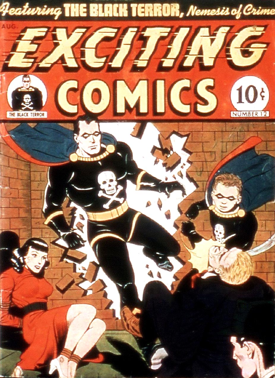 Exciting Comics (1940) issue 12 - Page 1