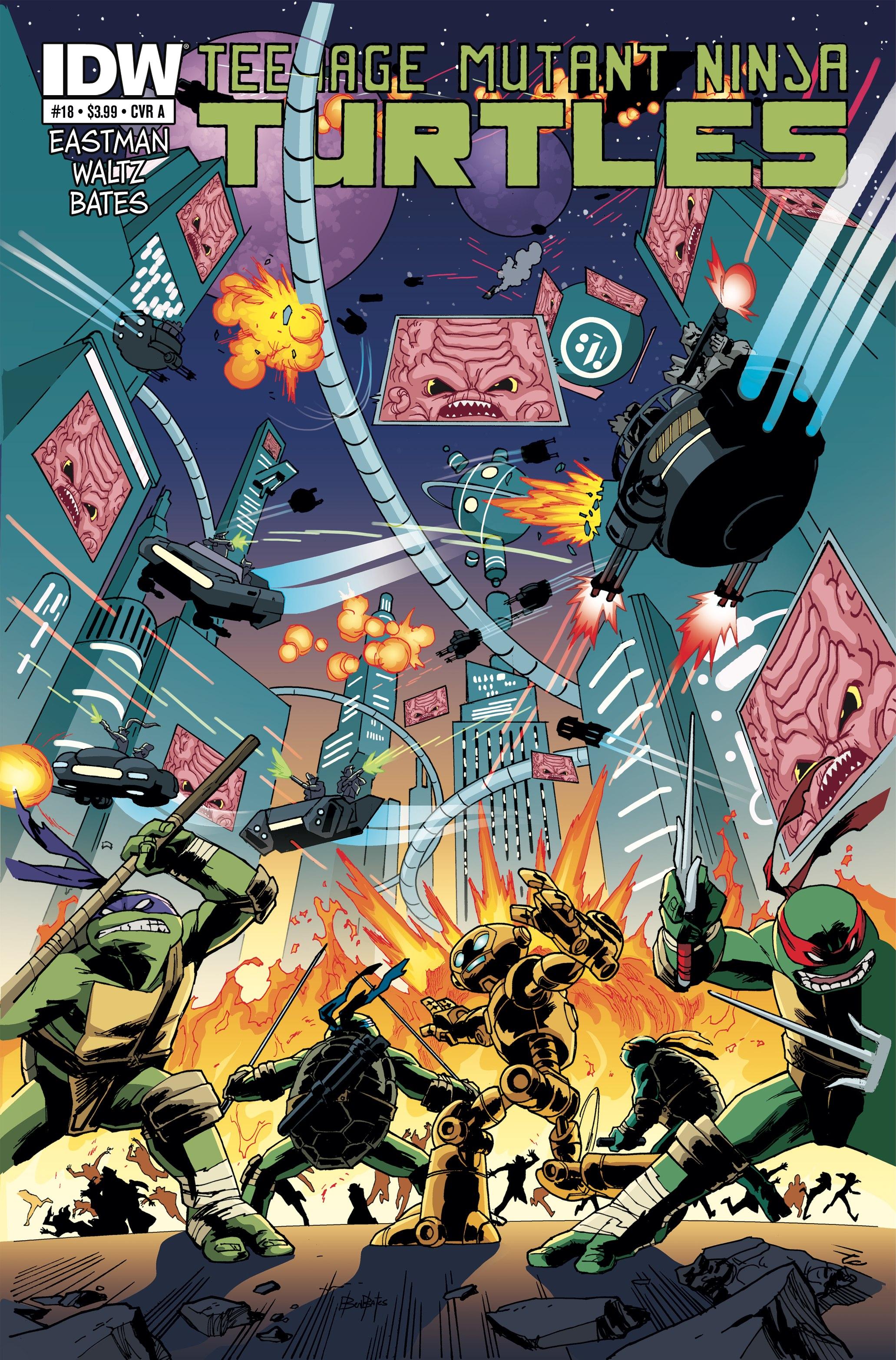 Teenage Mutant Ninja Turtles (2011) issue 18 - Page 1