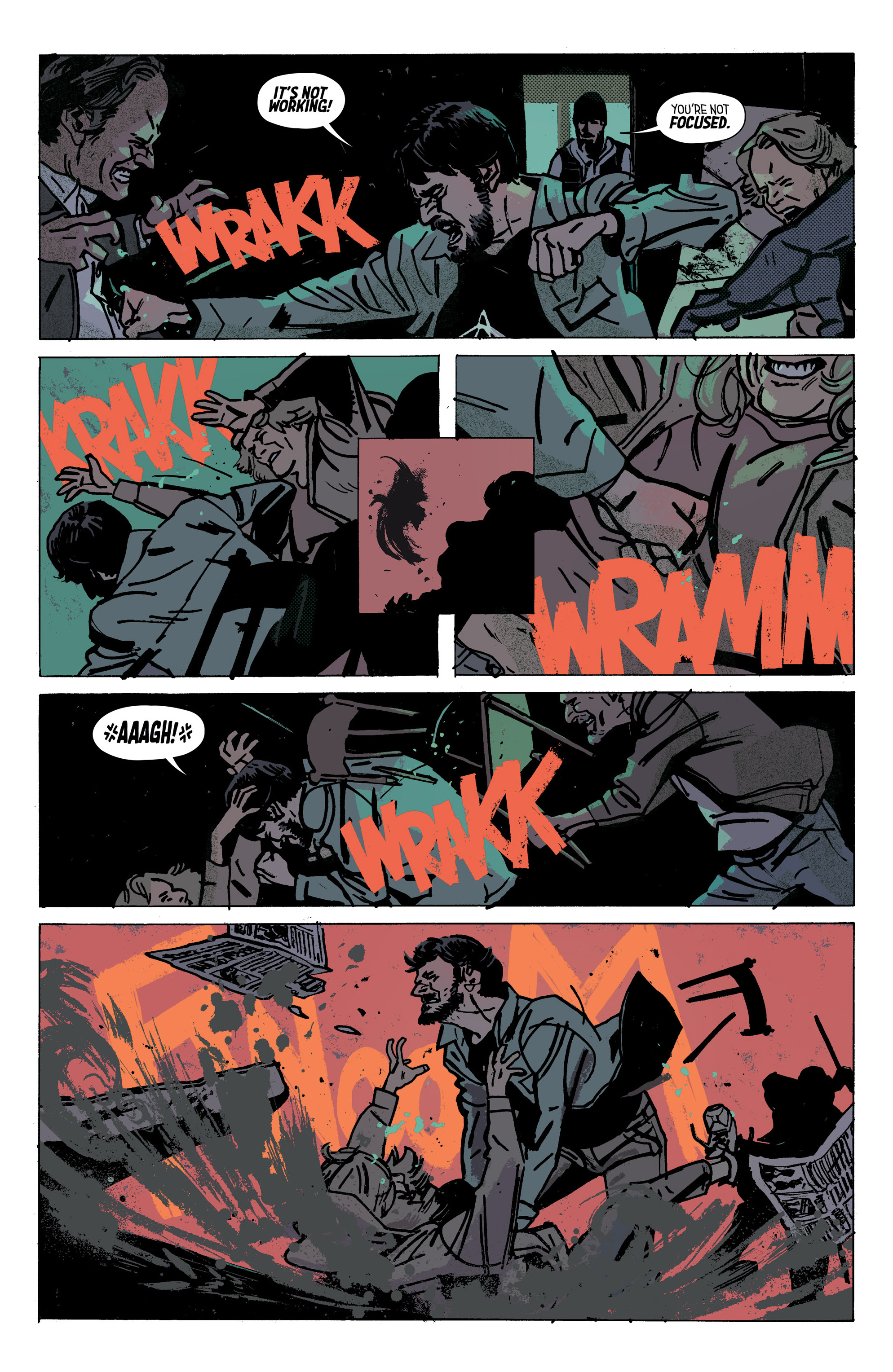 Read online Outcast by Kirkman & Azaceta comic -  Issue #28 - 8