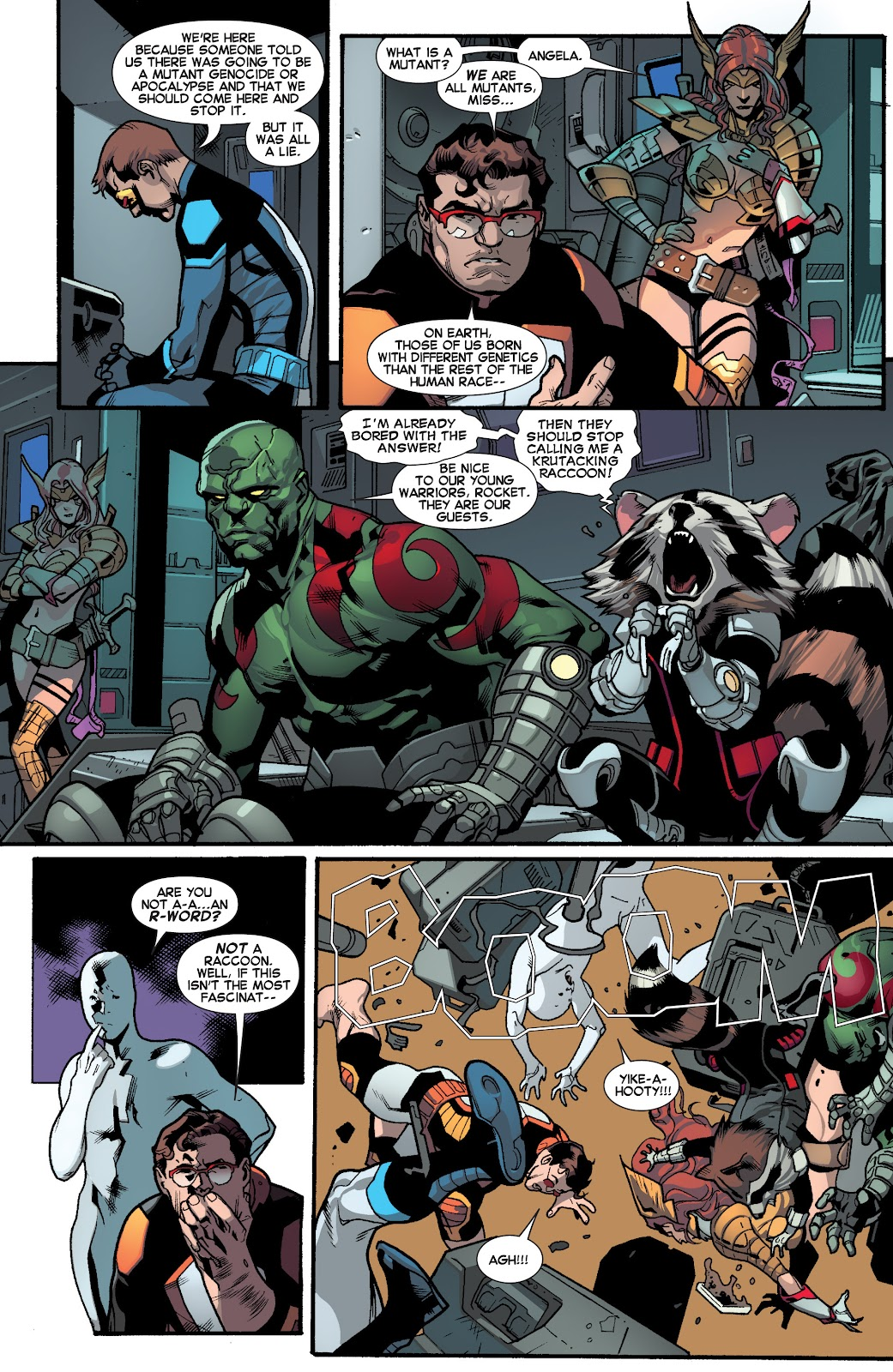 Guardians of the Galaxy/All-New X-Men: The Trial of Jean Grey issue TPB - Page 49