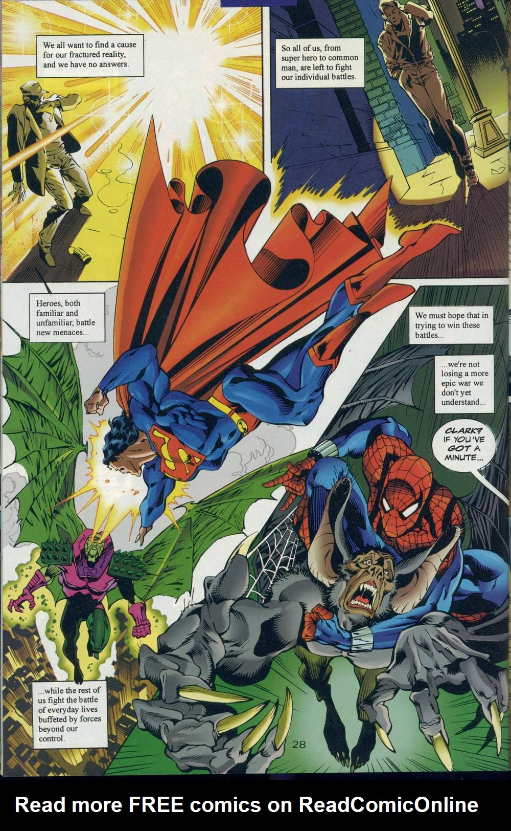 Read online DC Versus Marvel Comics comic -  Issue #1 - 30