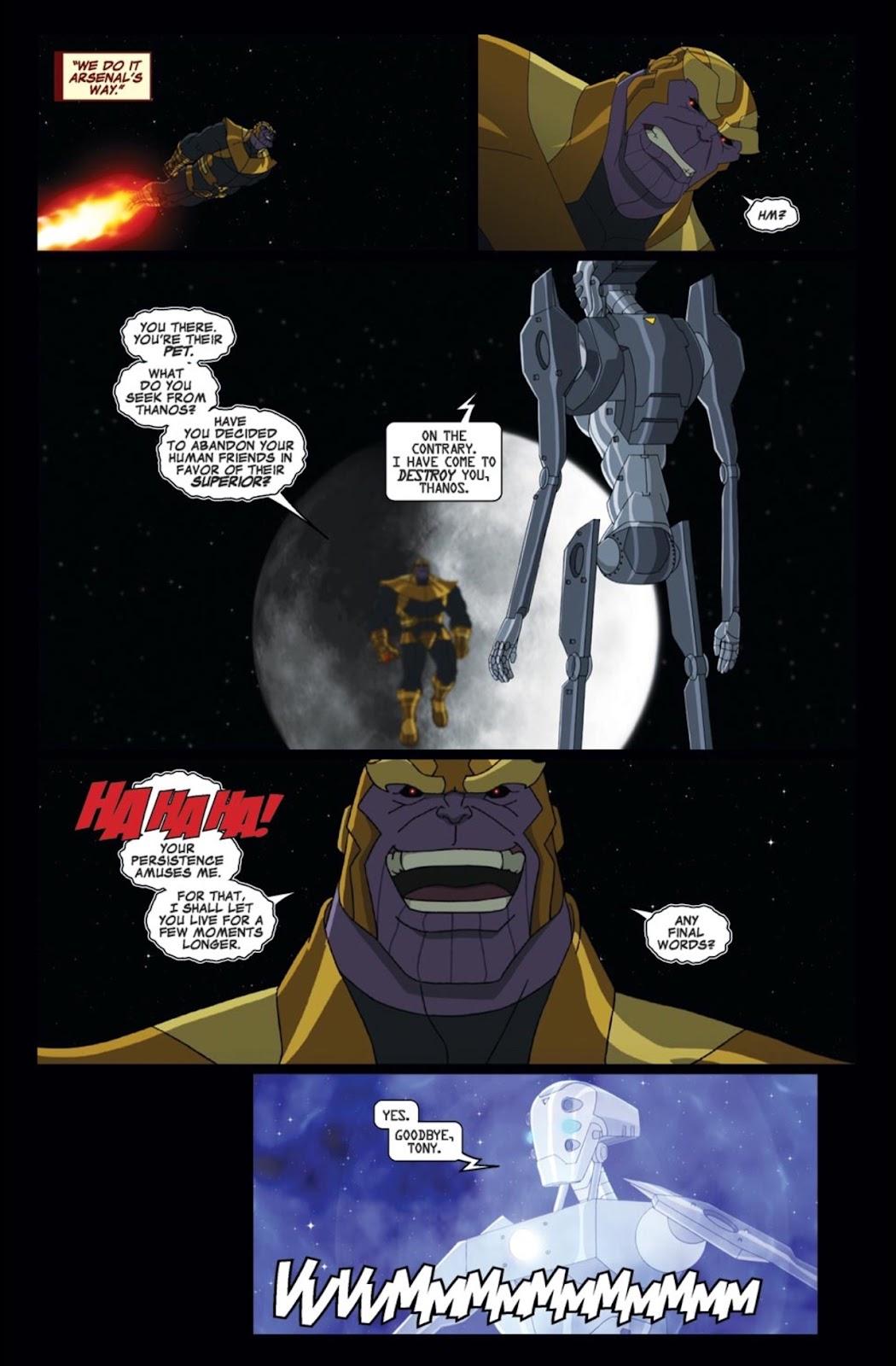 Read online Marvel Universe Avengers Assemble Season 2 comic -  Issue #2 - 21