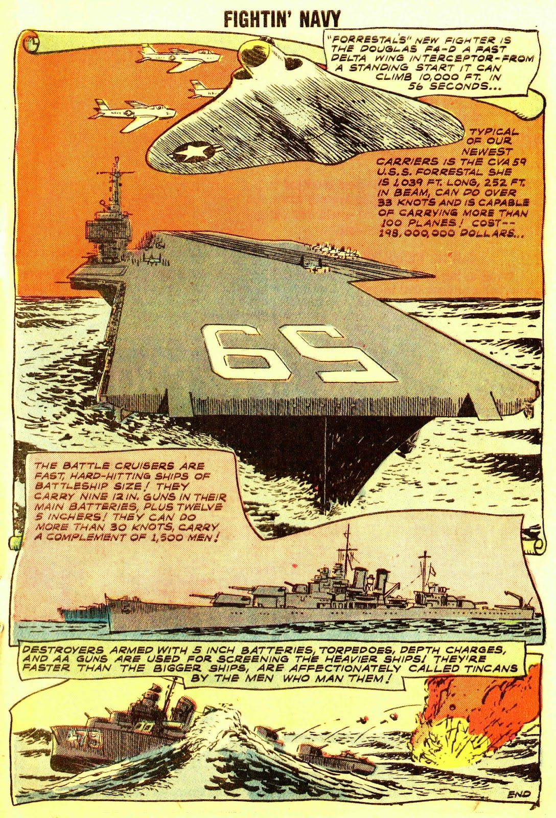 Read online Fightin' Navy comic -  Issue #83 - 17