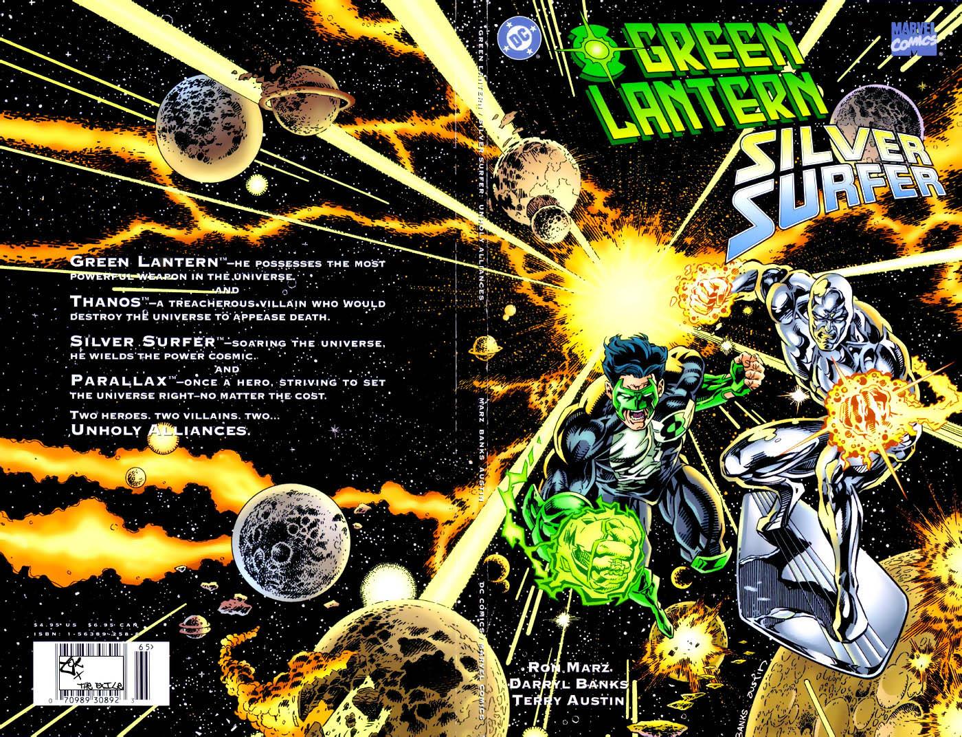 Green Lantern/Silver Surfer: Unholy Alliances Full Page 1